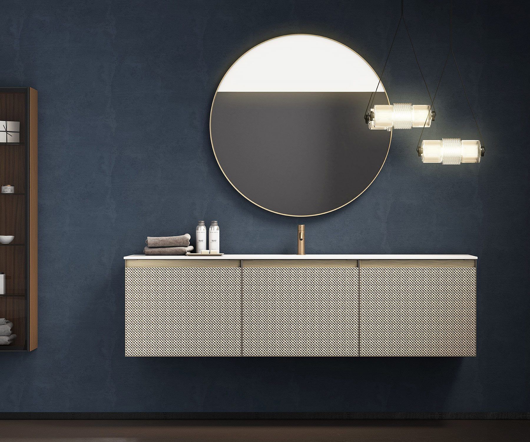 Modern +Skin Wall Mount Vanity Unit