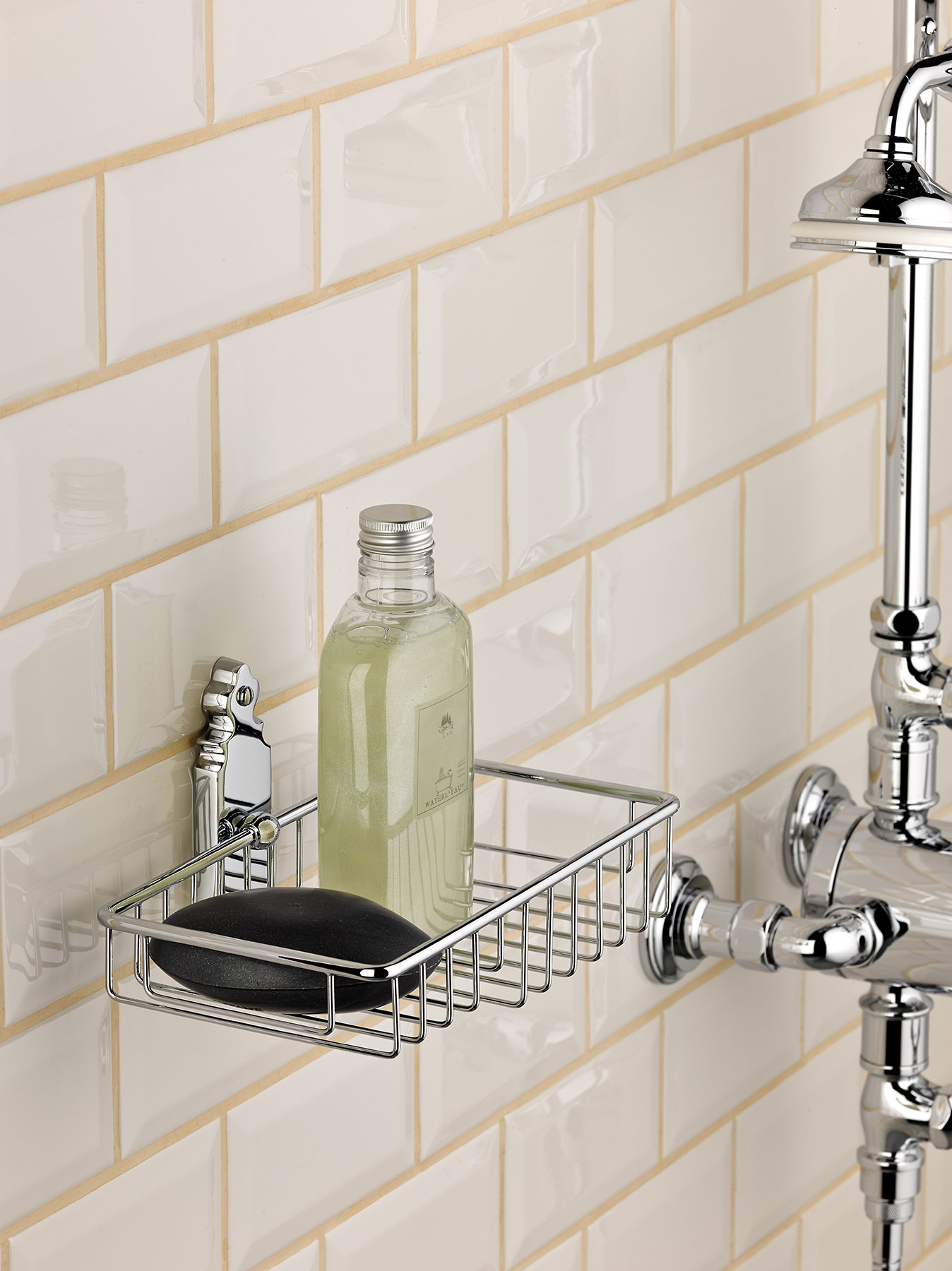 Traditional 1900 Wall Mount Shower Basket