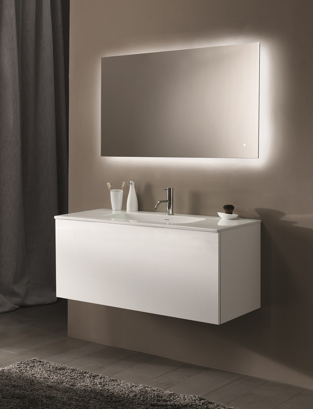 Modern 51 Collection Wall Mount Vanity Series 1200