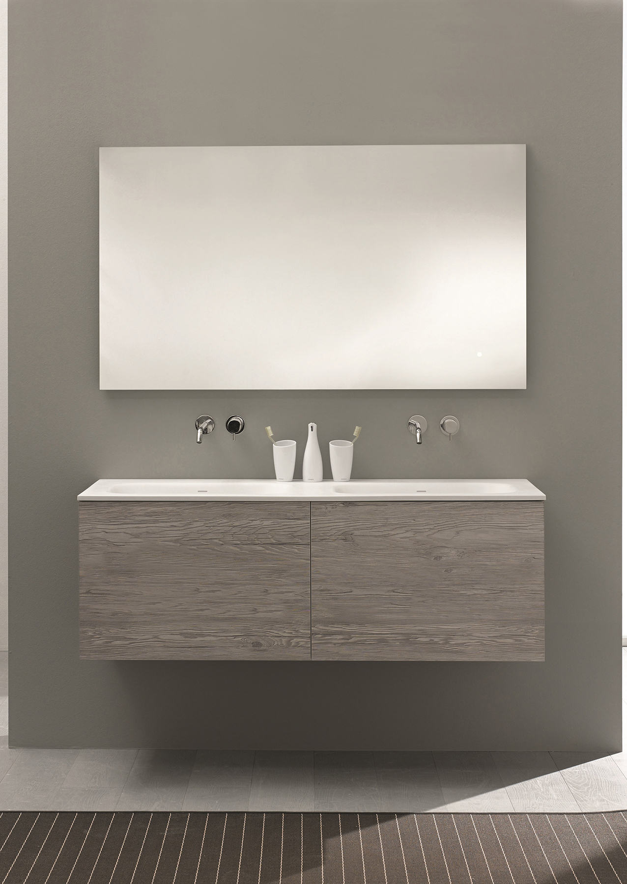 Modern 51 Collection Wall Mount Vanity Series 1400