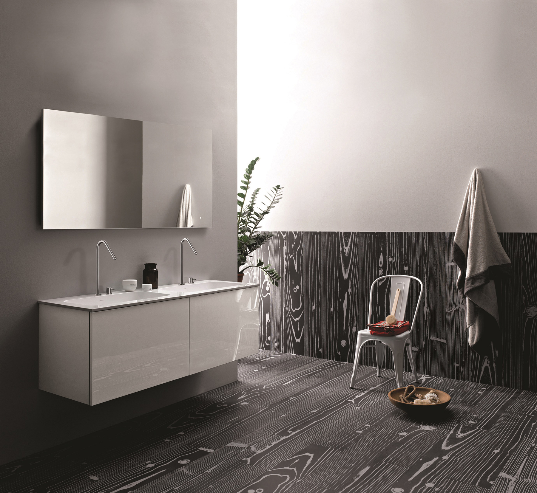 Modern 51 Collection Wall Mount Vanity Series 1800