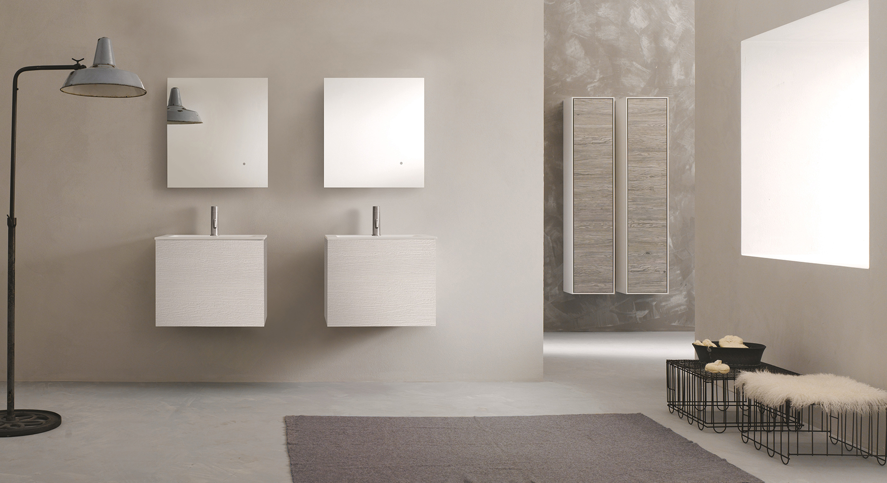 Modern 51 Collection Wall Mount Vanity Series 600