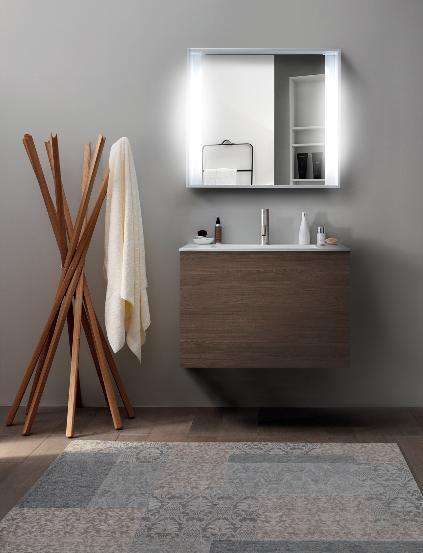 Modern 51 Collection Wall Mount Vanity Series 700