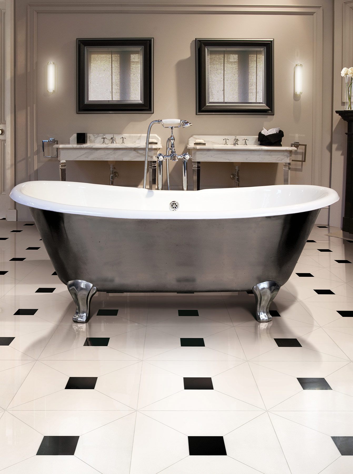 Traditional Admiral Lux Freestanding Bathtub