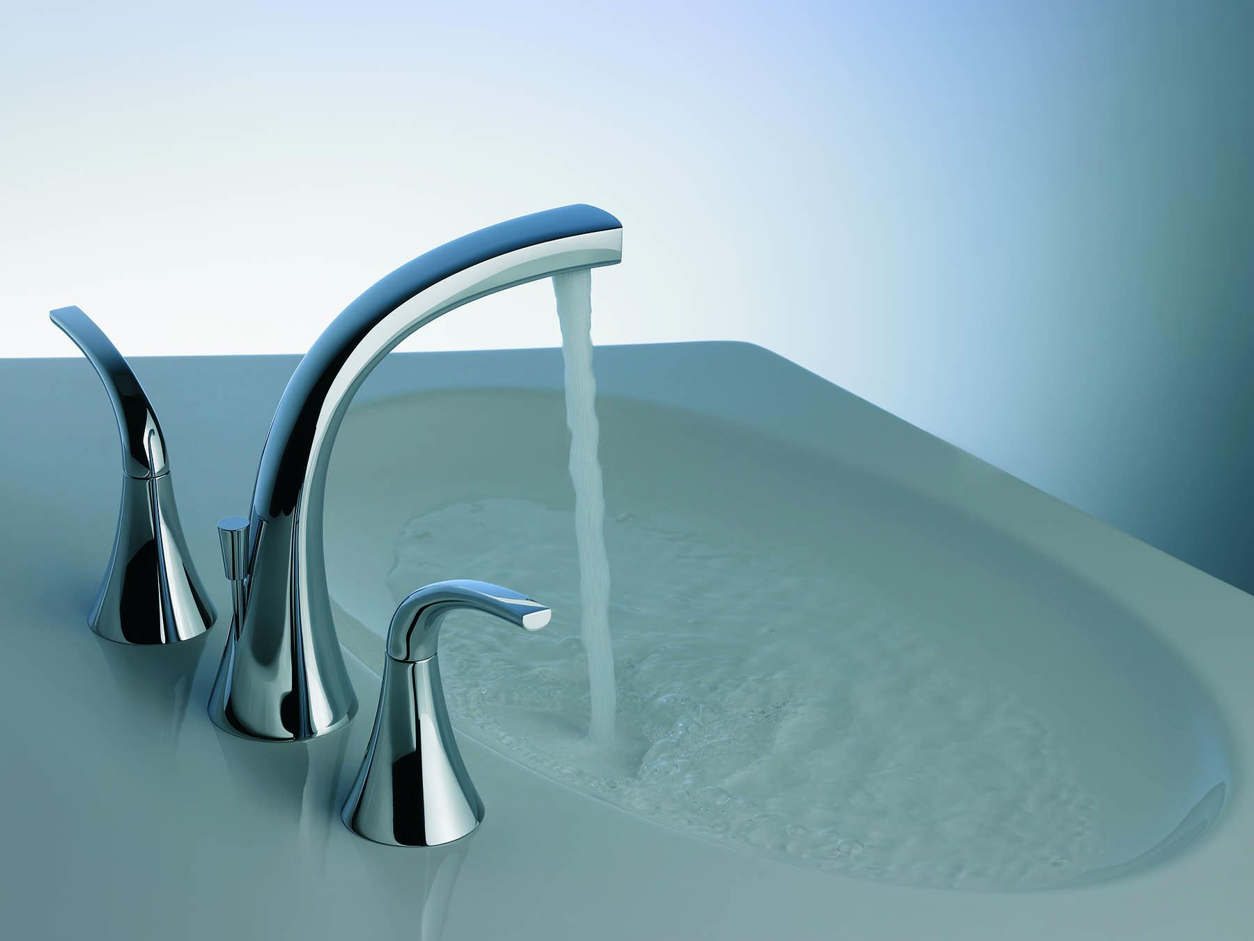Alesia Lever Plus Deck Mount Faucet