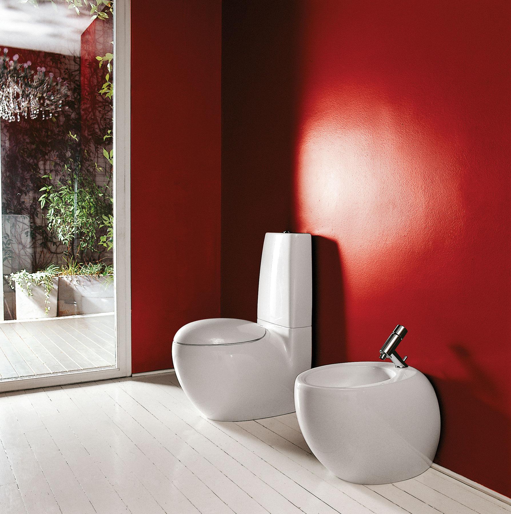 Modern Alessi Floorstanding Toilet