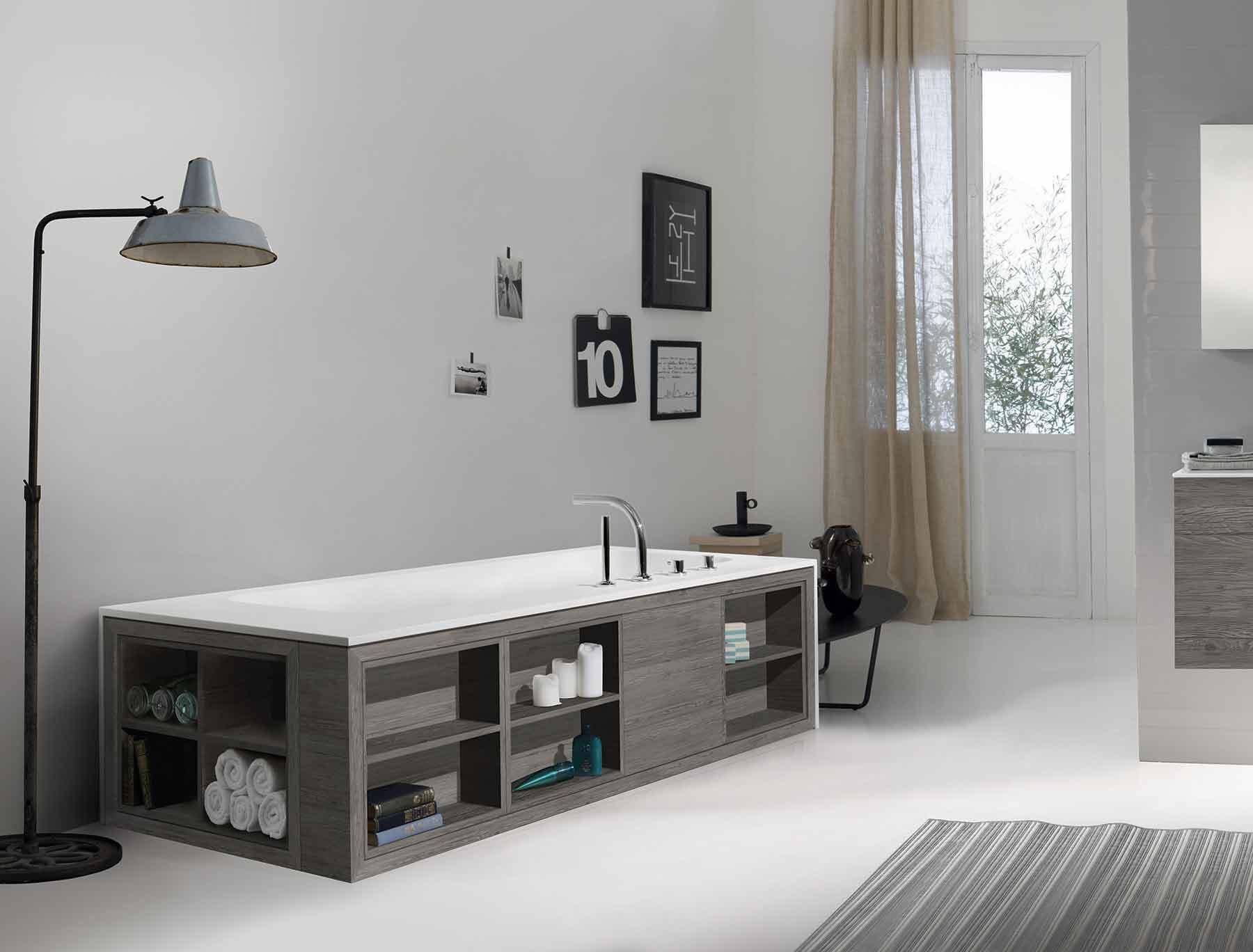 Modern Amanpuri Freestanding Rectangular Bathtub