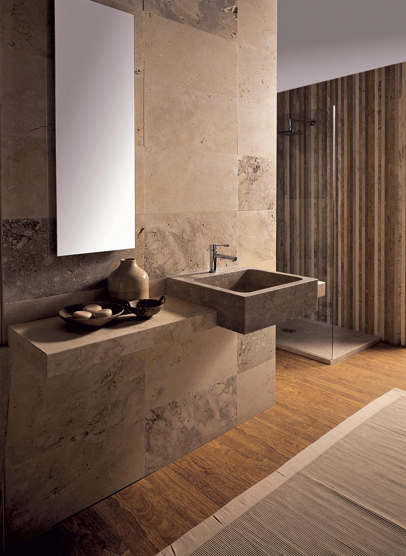 Modern Aqua Half Built-In & Countertop Washbasin