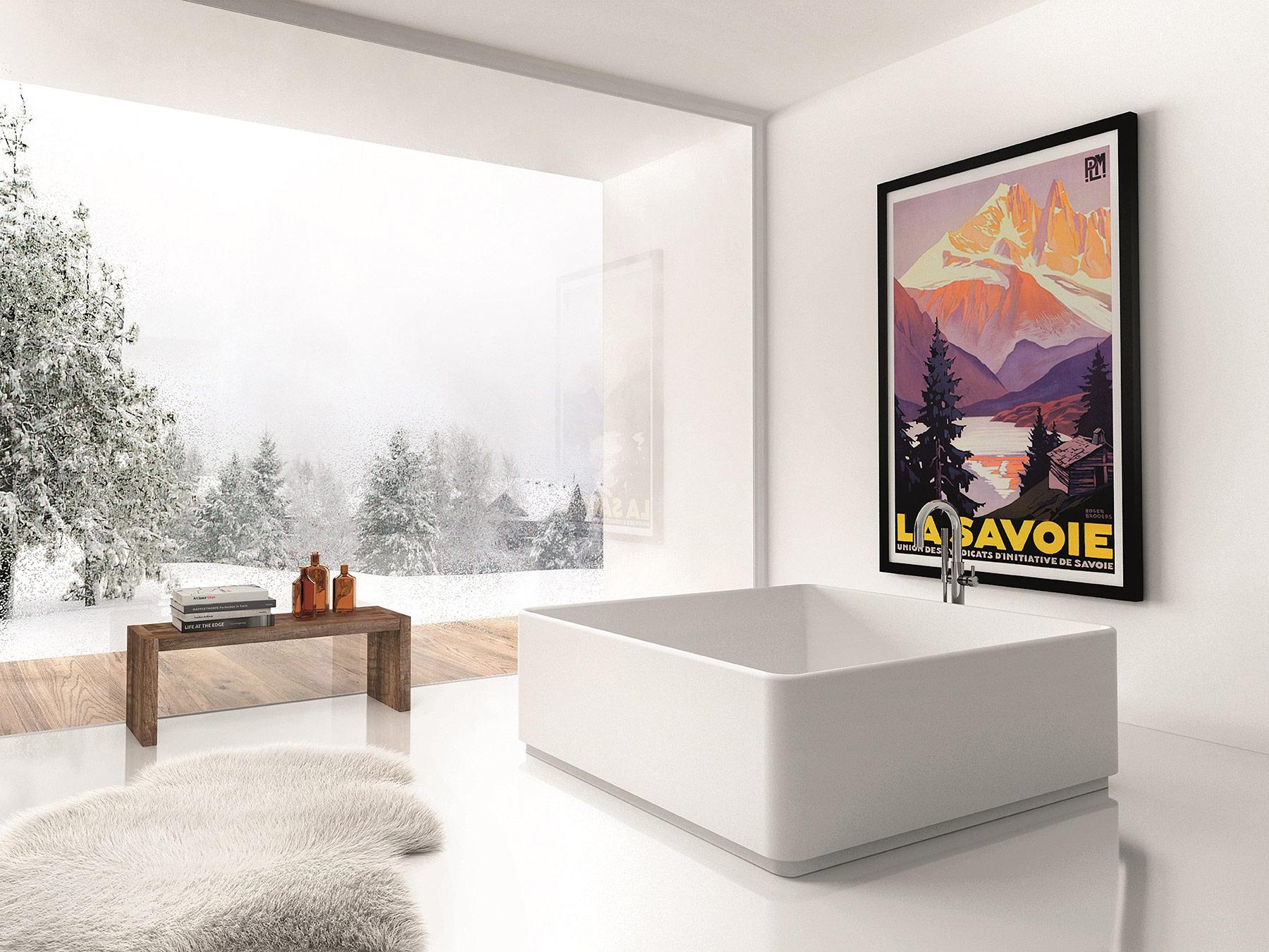 Modern Arca Freestanding Bathtub
