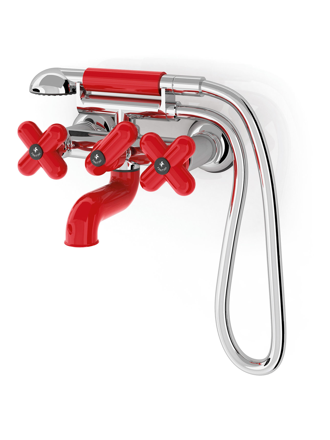 Contemporary Balocchi Wall Mount Tub Filler