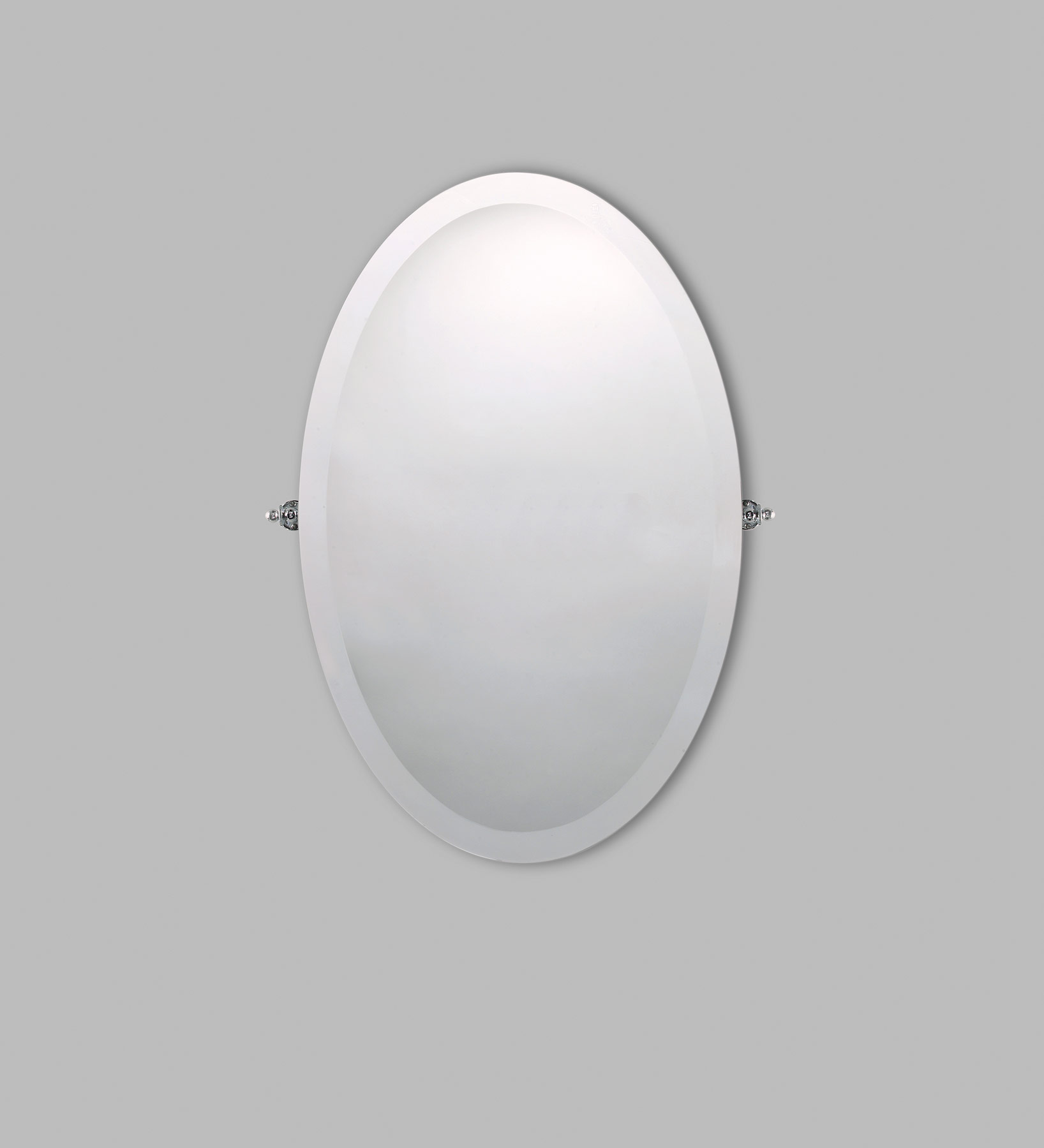 Transitional Beauty Wall Mount Mirror
