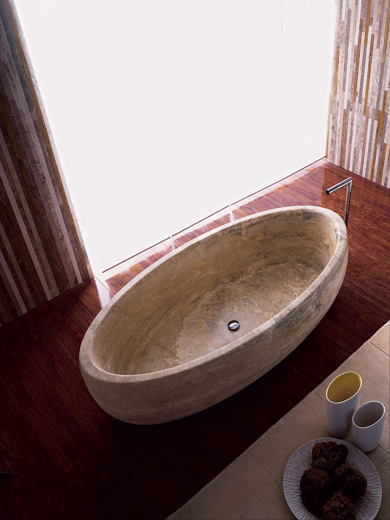 Modern Boat Freestanding Bathtub