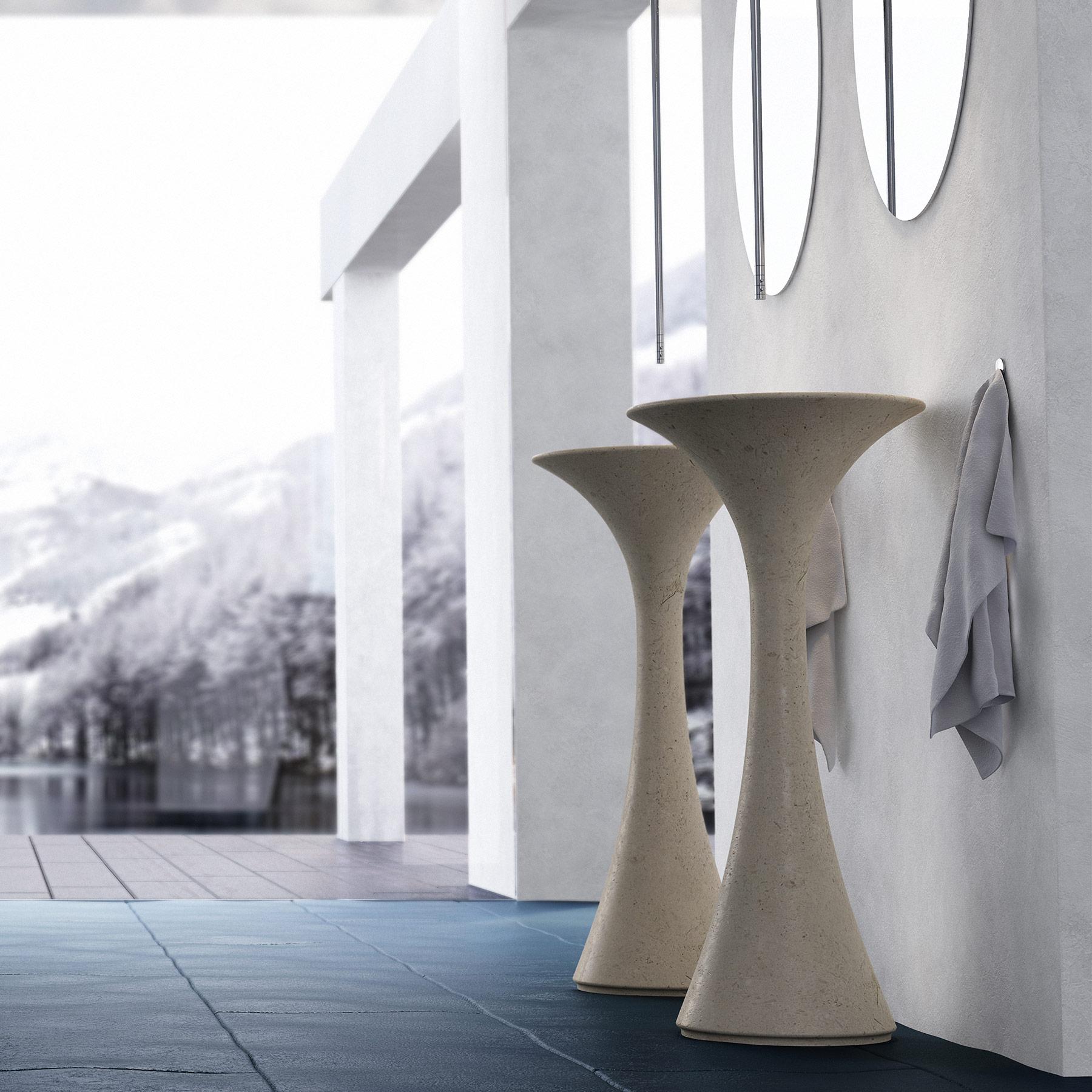 Contemporary Calla Freestanding Washbasin