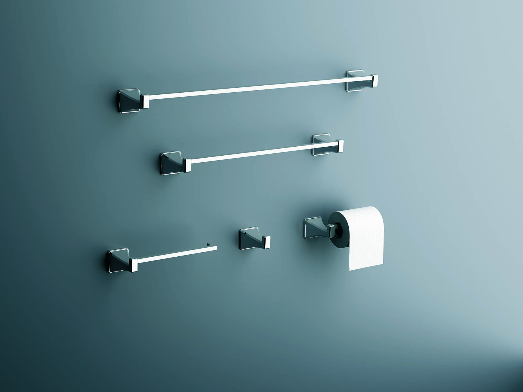 Casablanca Wall Mount Towel Bar