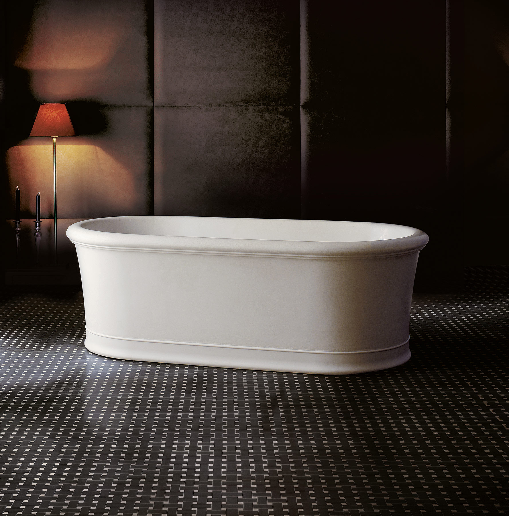 Transitional Celine Freestanding Bathtub