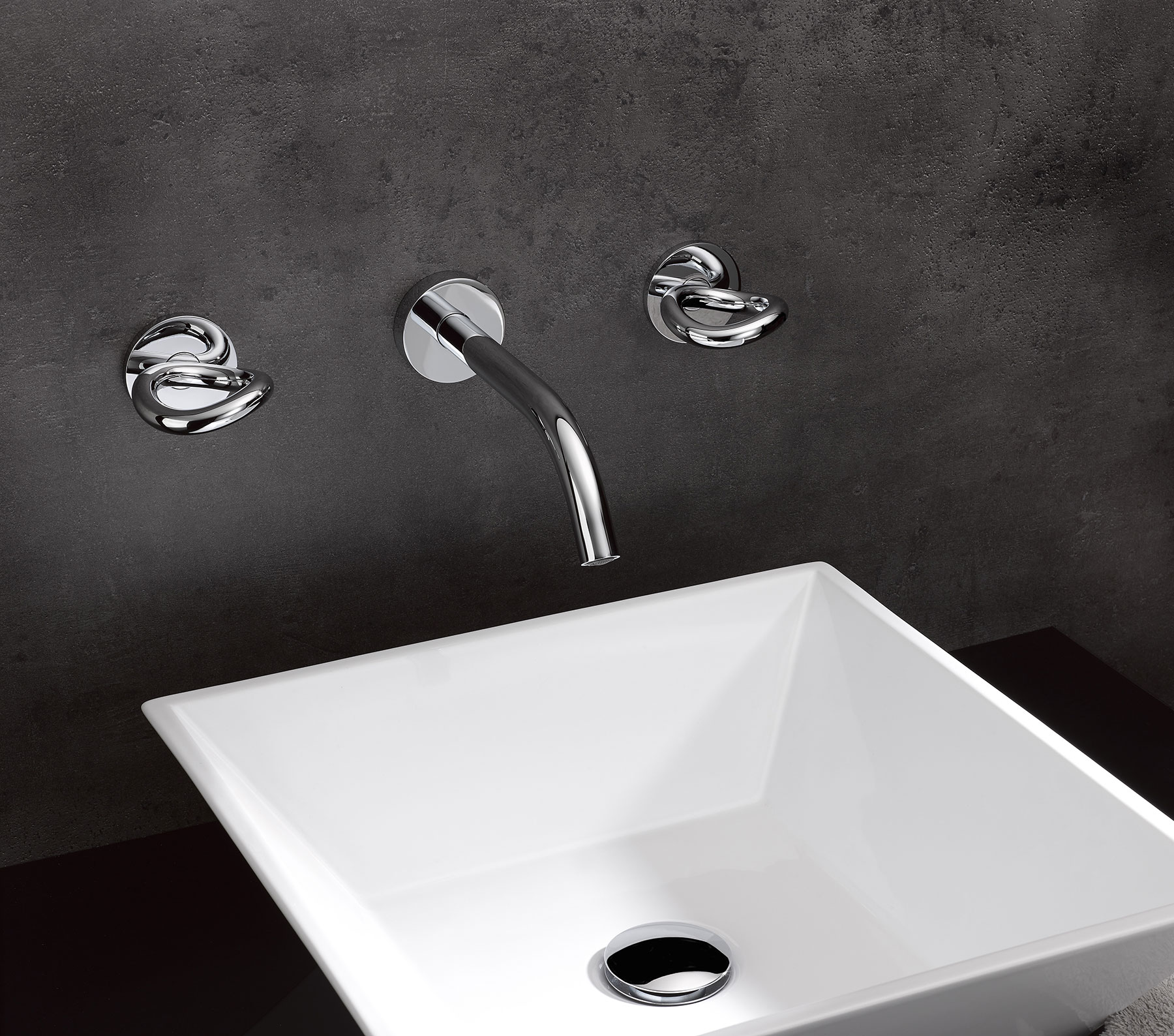 Modern Collection O Wall Mount Faucet