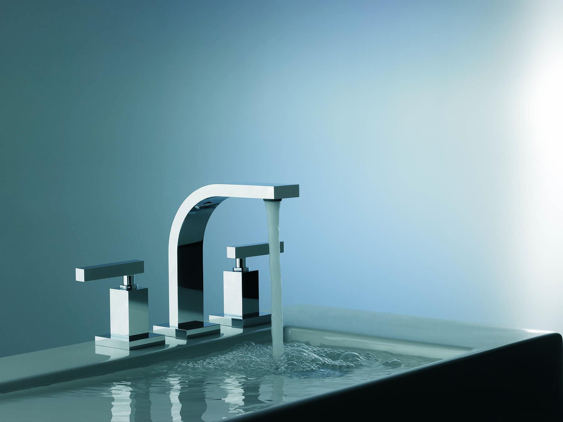 Dominic Lever Plus Deck Mount Faucet