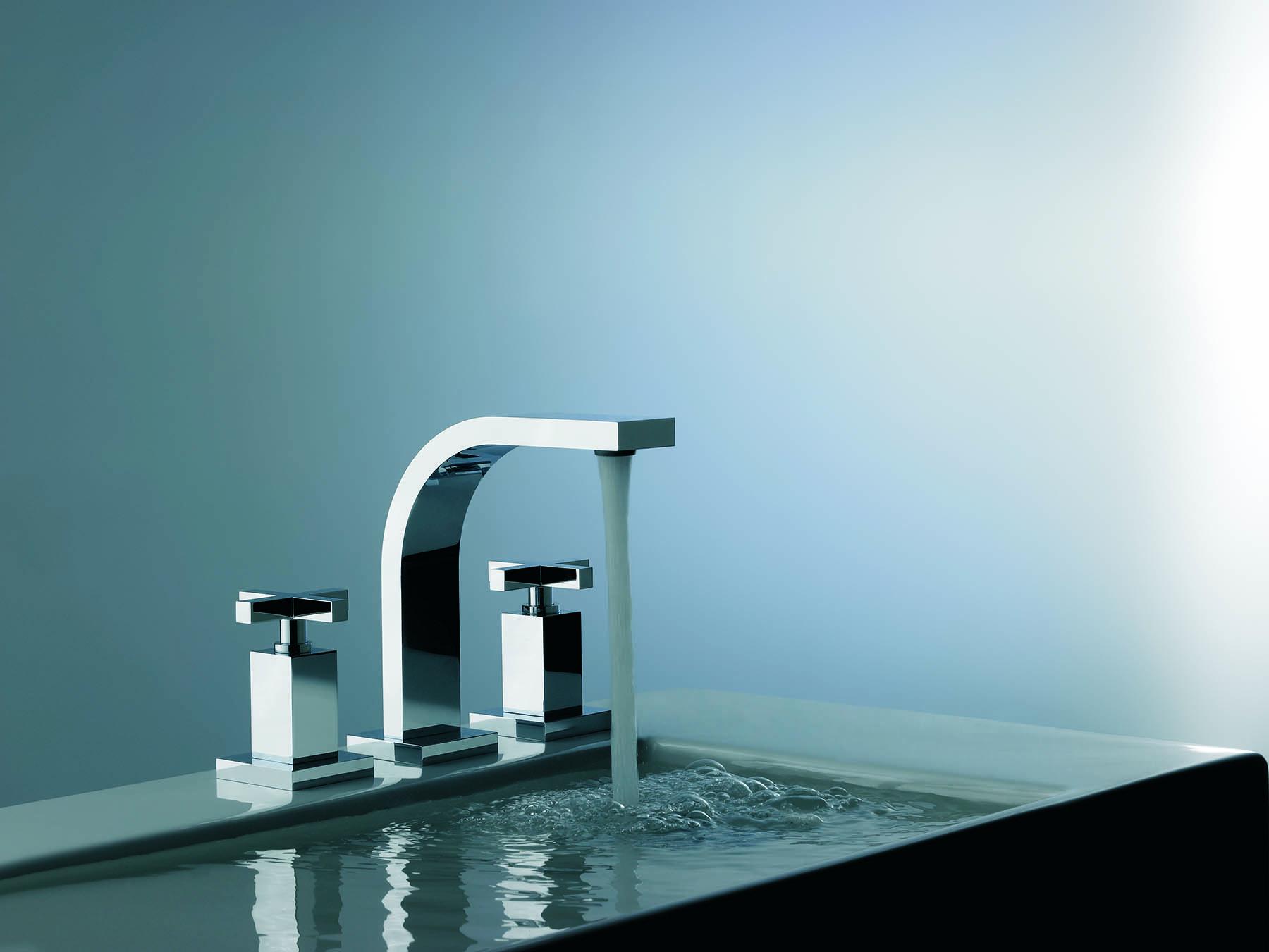 Modern Dominic Plus Deck Mount Faucet