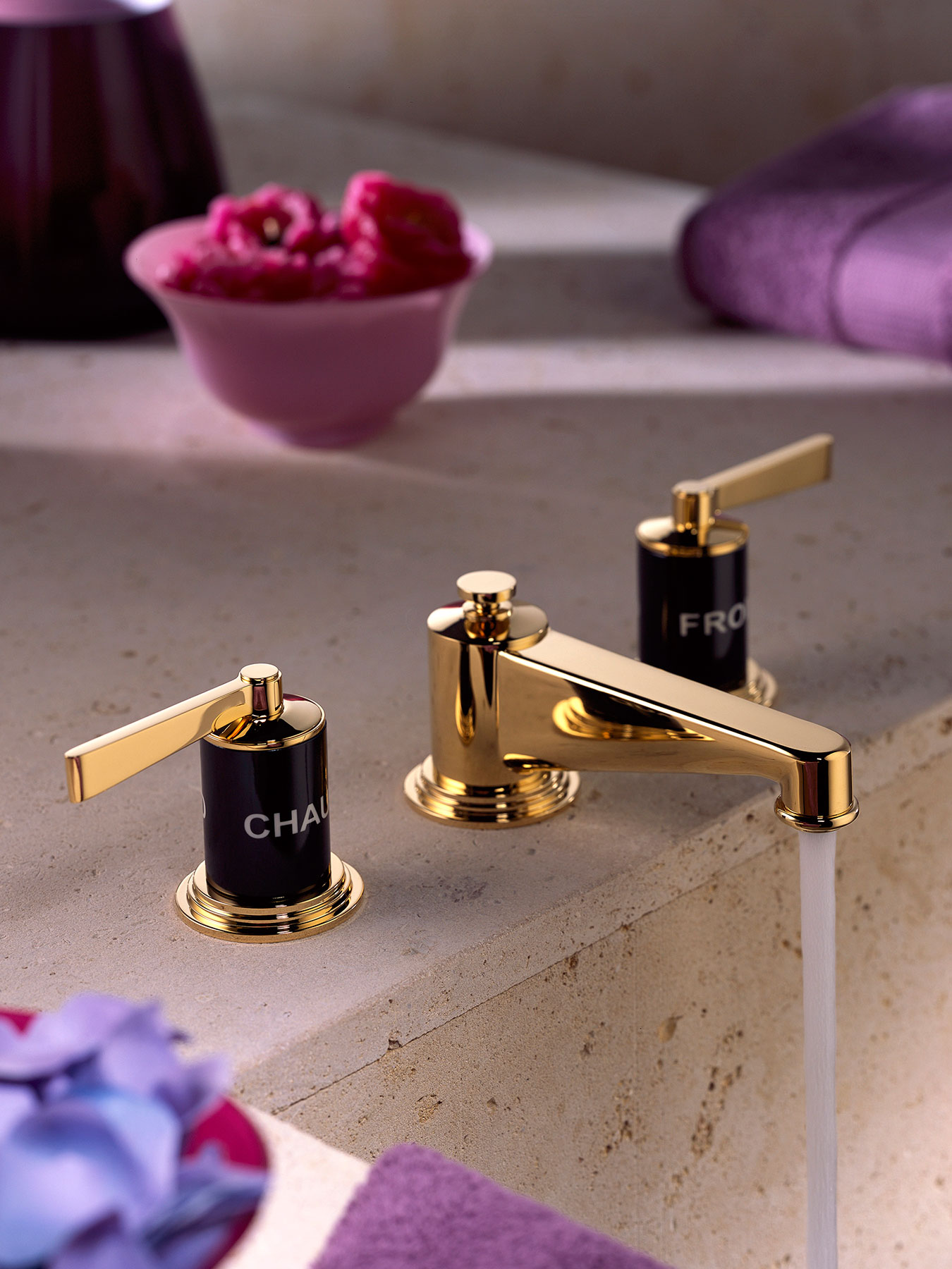 Traditional Faubourg Deck Mount Faucet