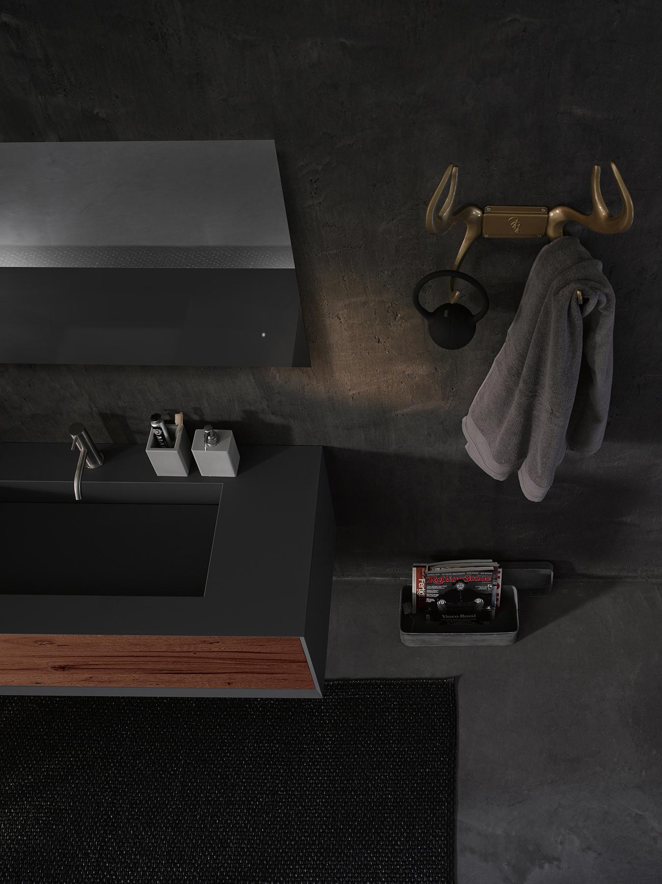 Modern Fenix Full Wall Mount Vanity