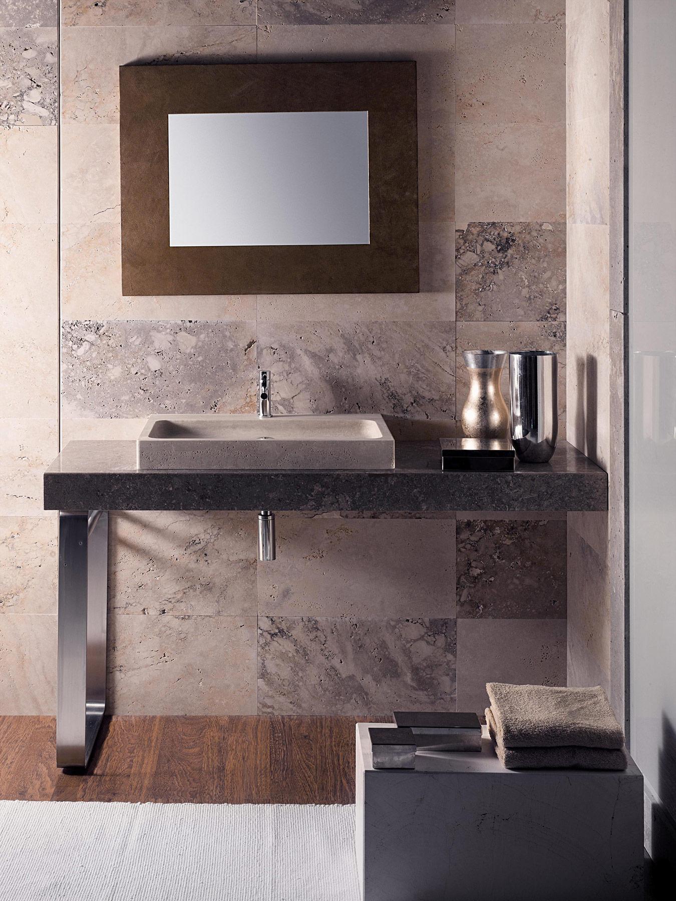 Transitional Flat Countertop Washbasin
