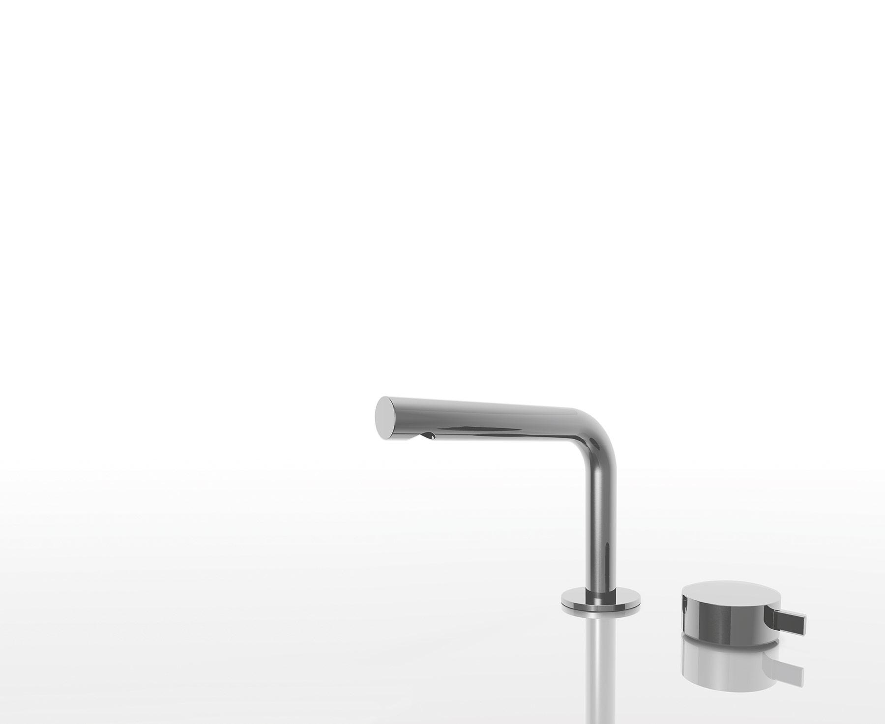 Modern Fukasawa Deck Mount Faucet