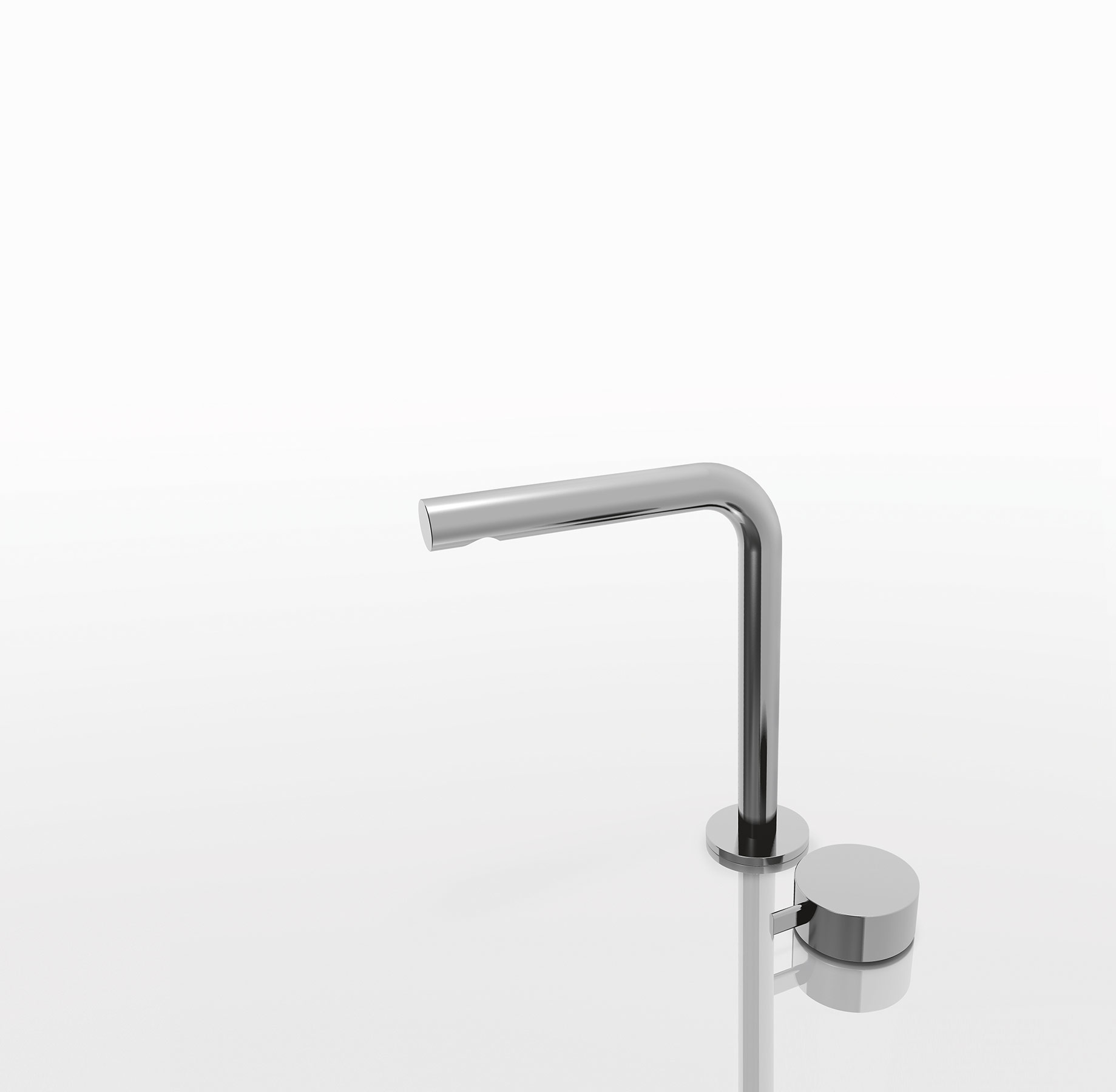 Transitional Fukasawa Deck Mount Faucet