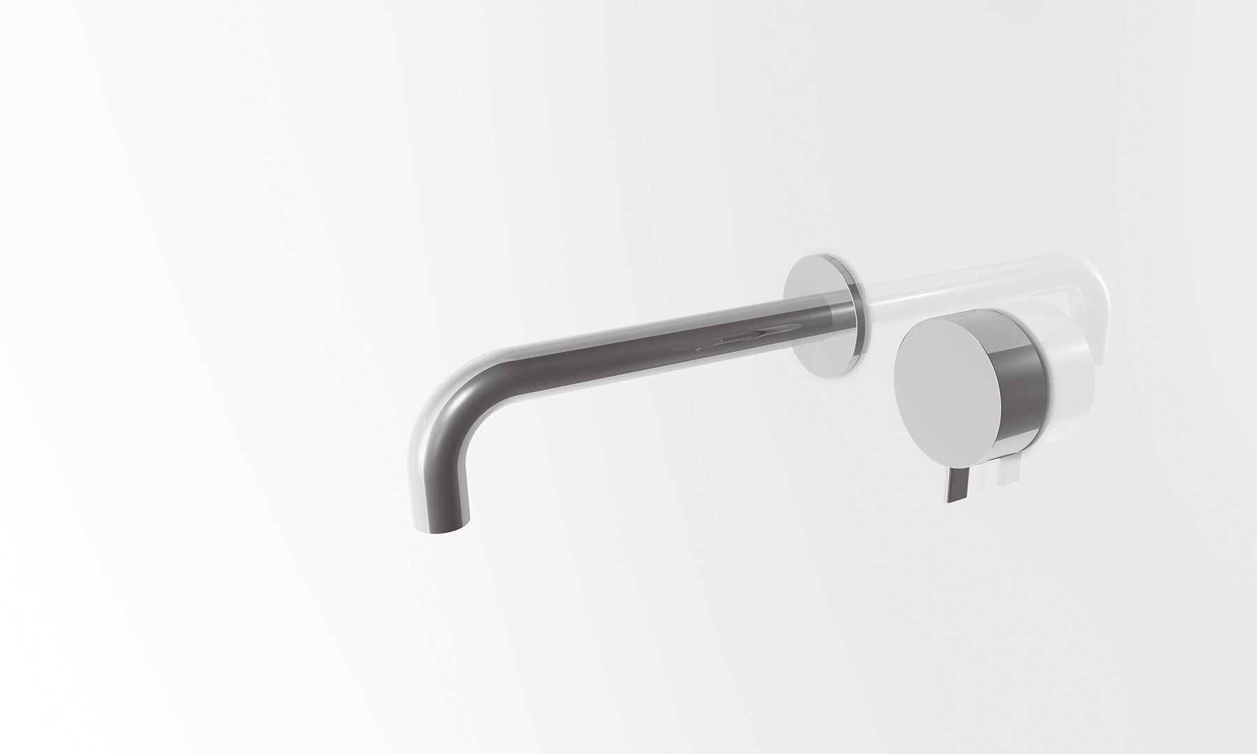 Transitional Fukasawa Wall Mount Faucet