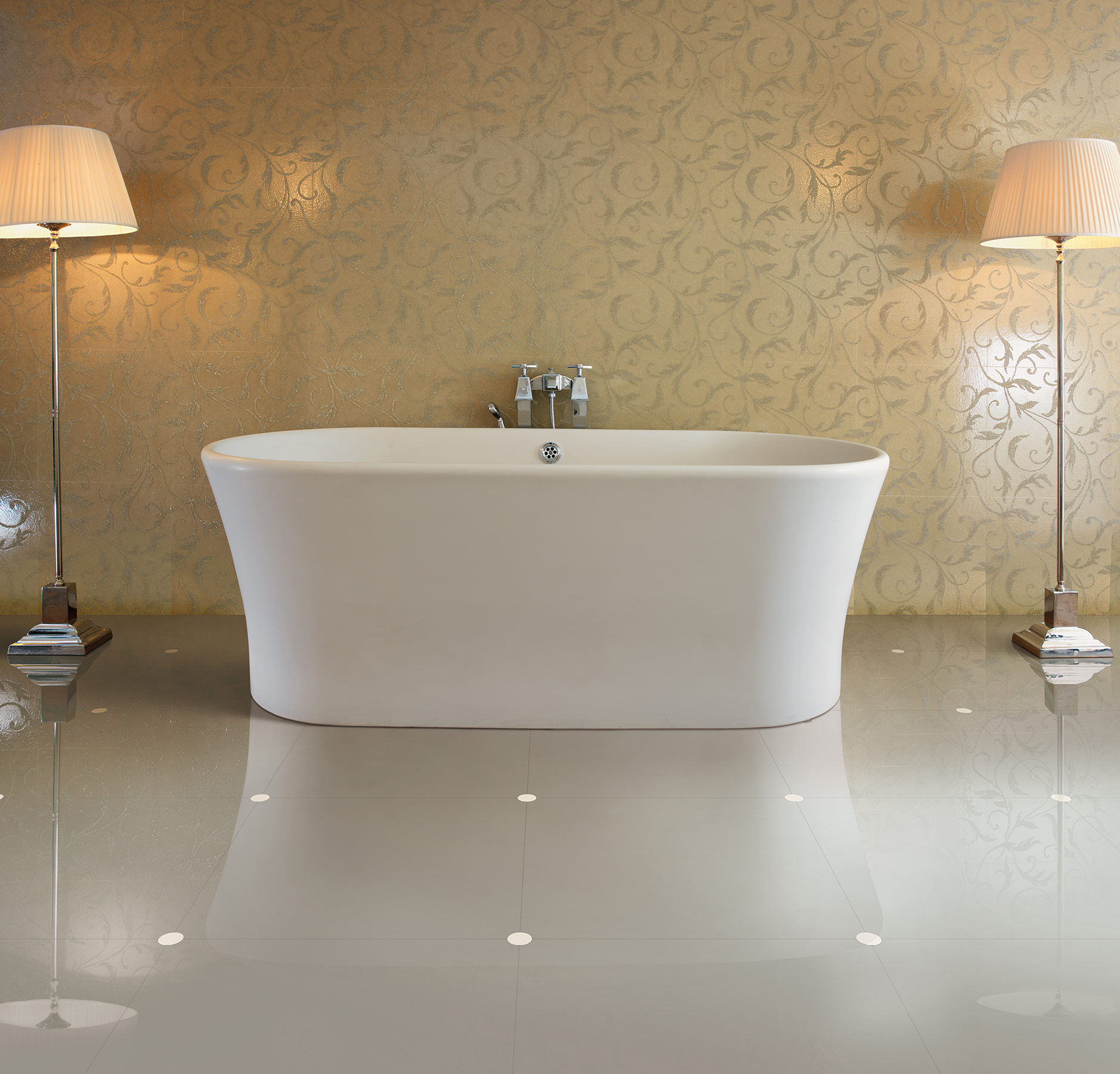 Modern Fusion Freestanding Bathtub