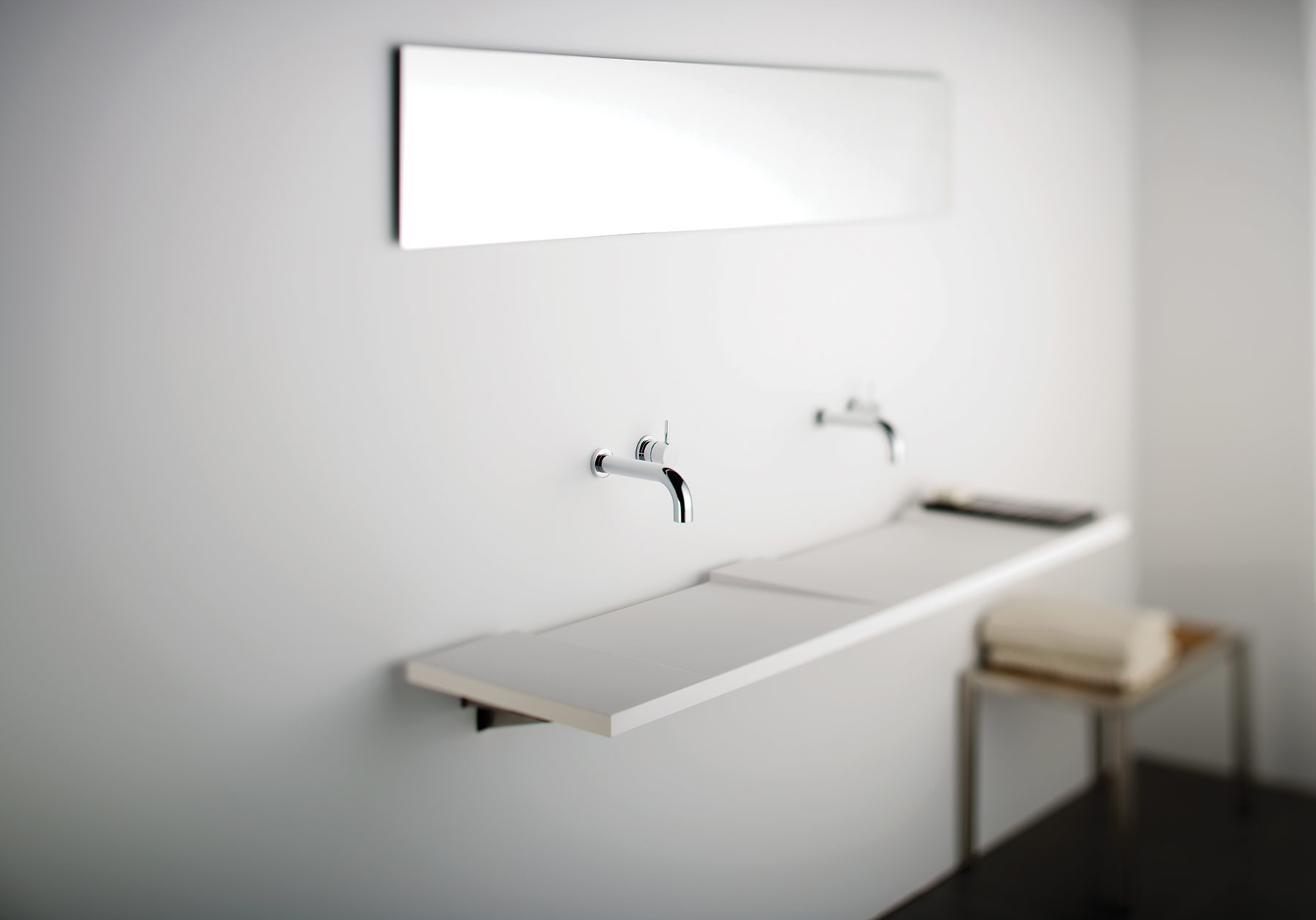 Contemporary Geo Wall Mount Washsurface