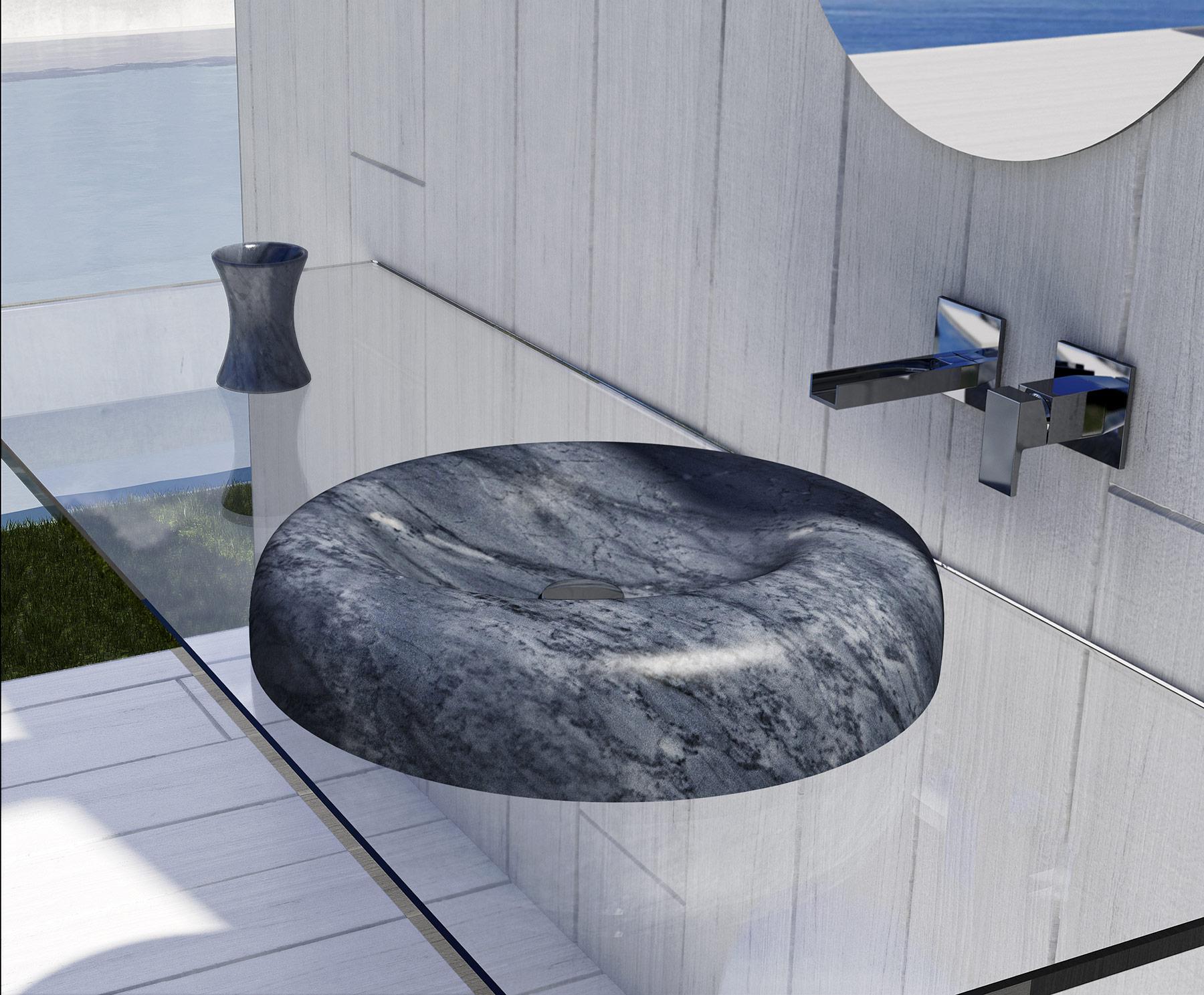Transitional Goccia Countertop Washbasin