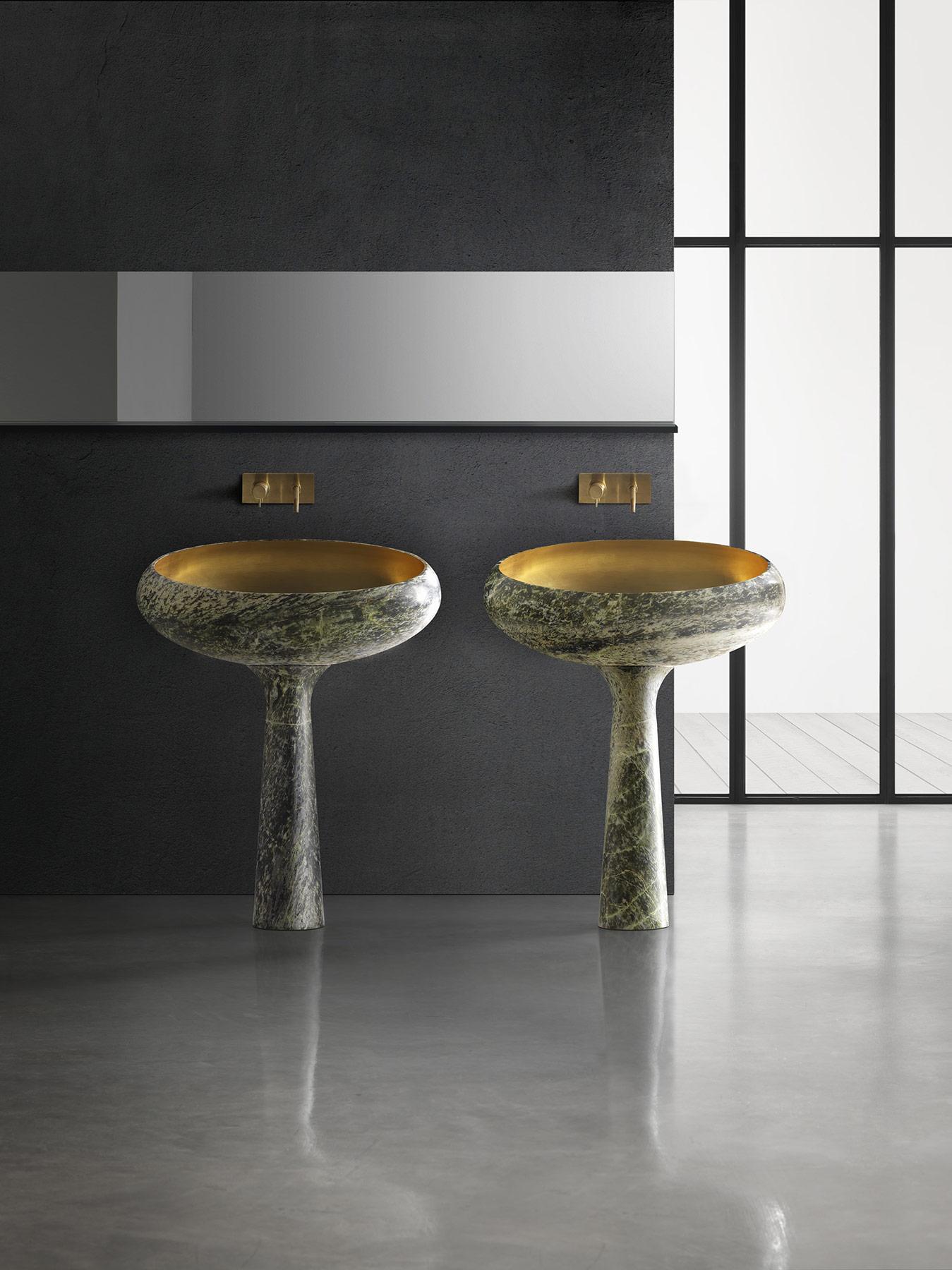 Modern Gong Floor Mount Washbasin