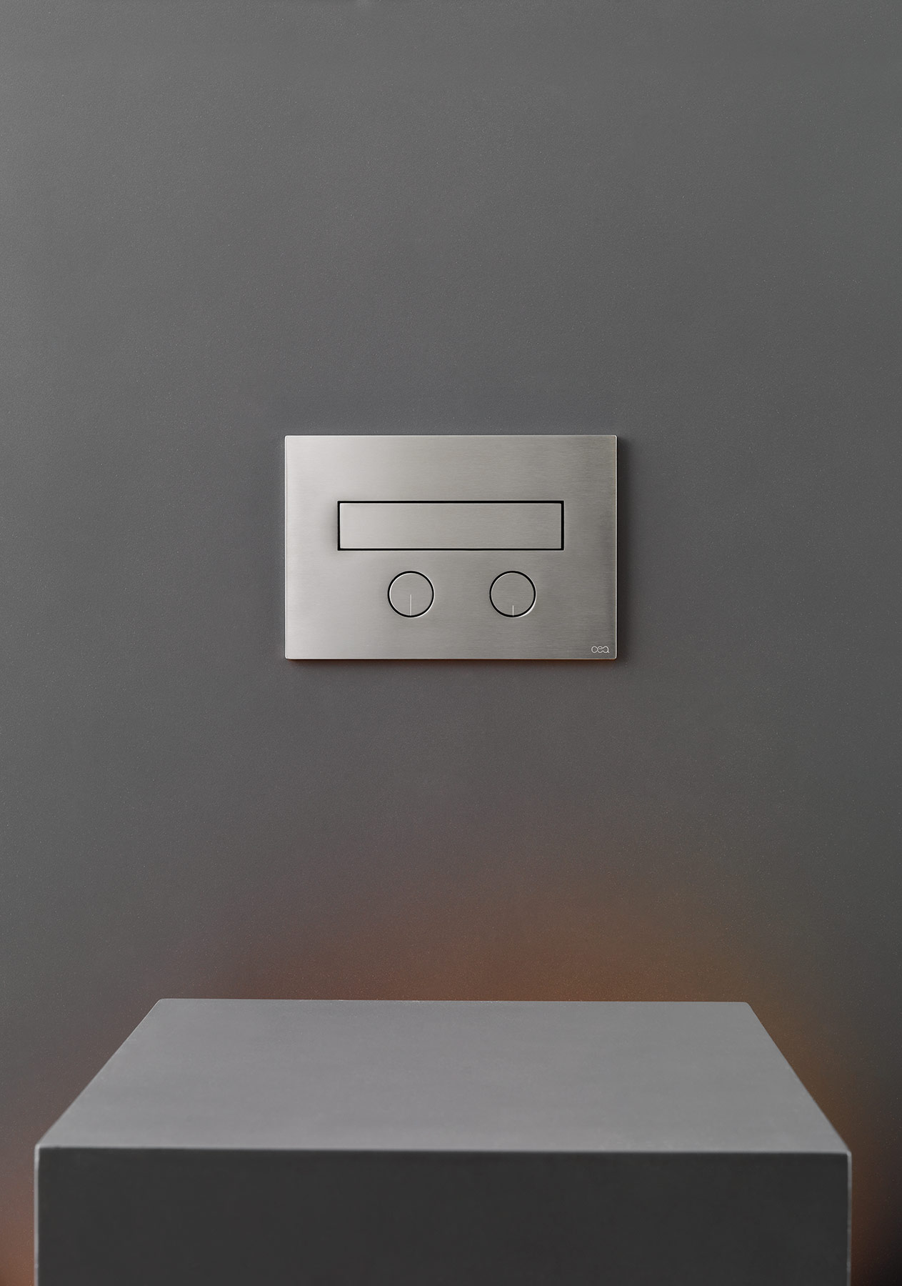 Contemporary Hydroplate Wall Mount Flush Plate