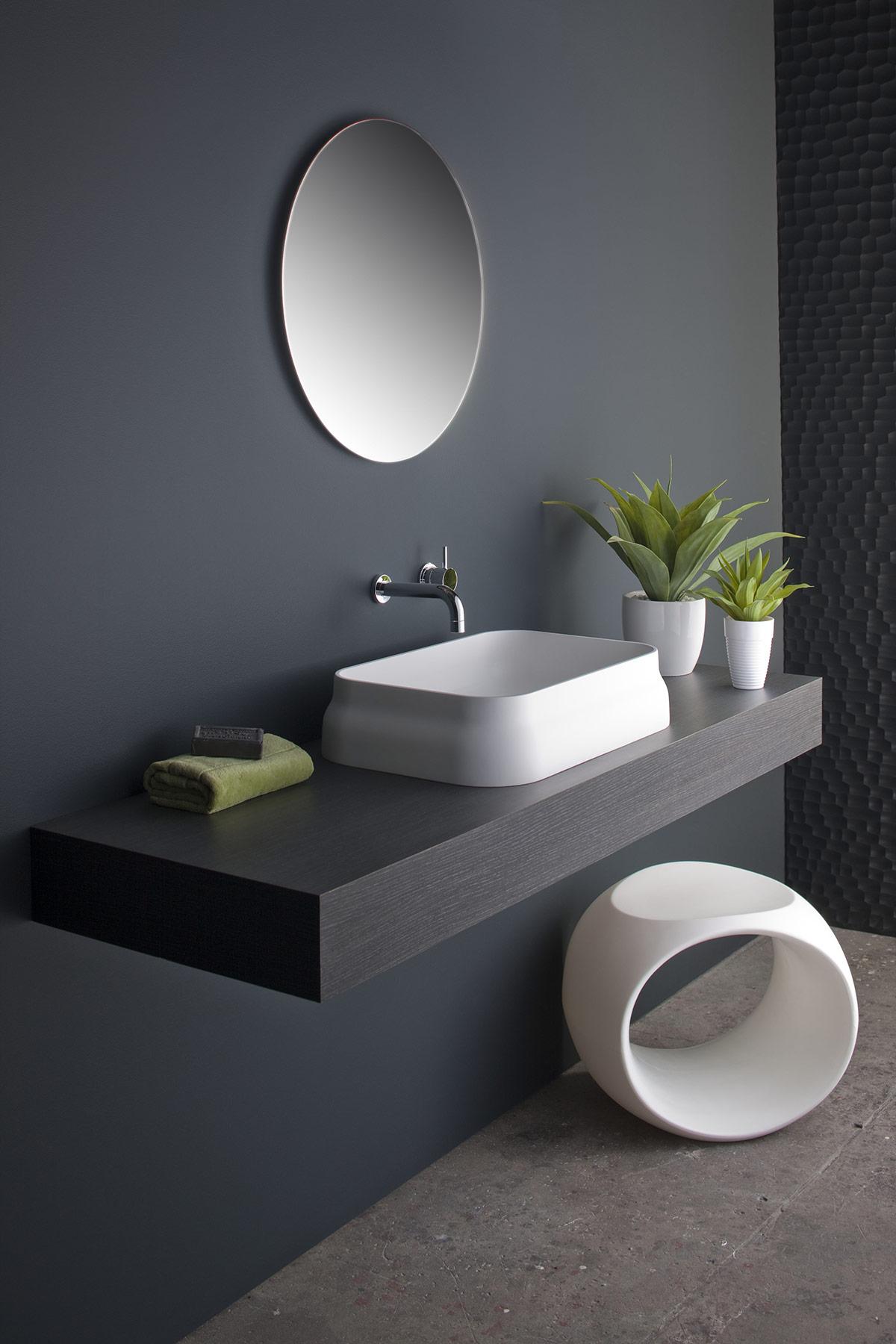 Modern Latis Countertop Washbasin