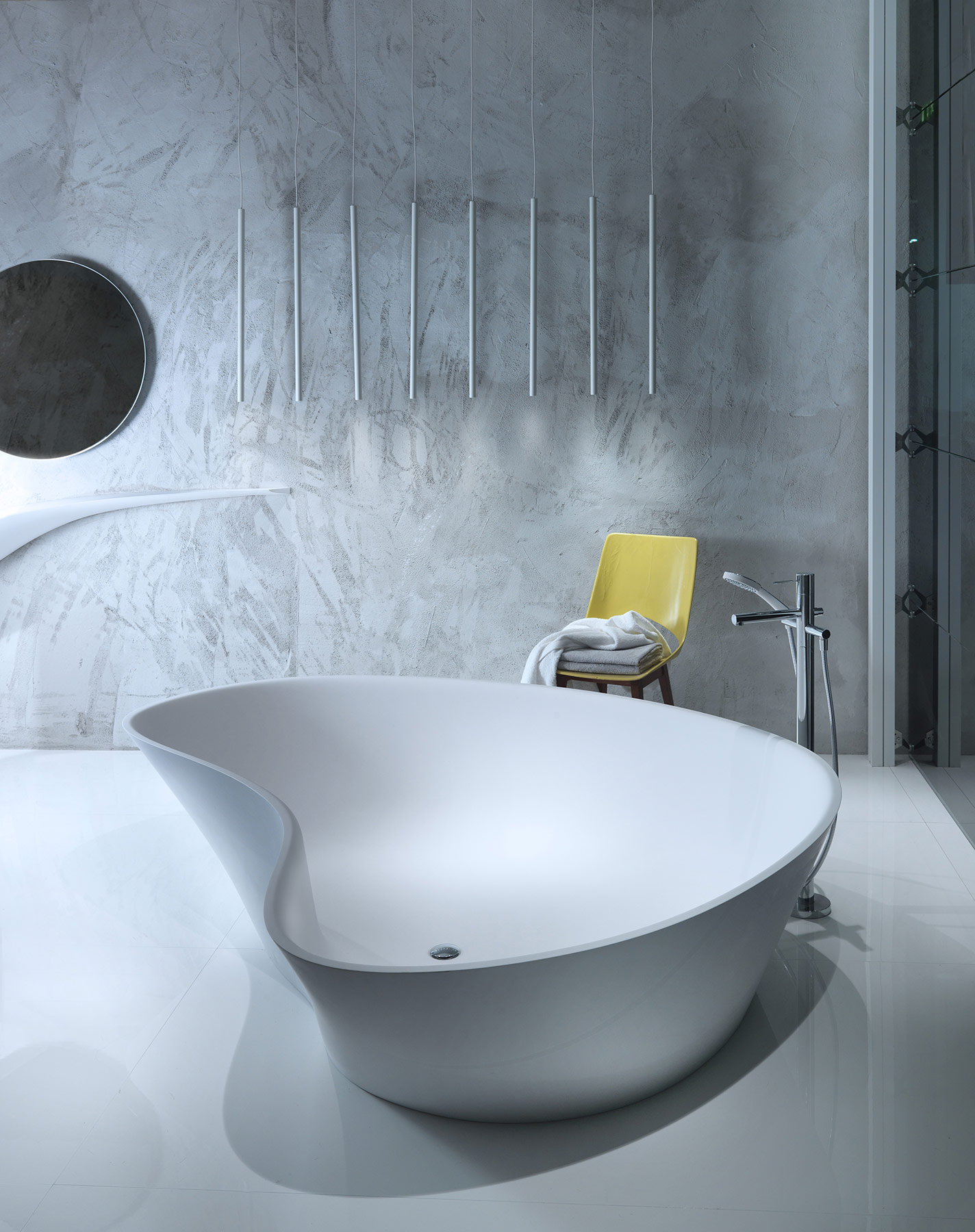 Contemporary Level 45 Freestanding Bathtub