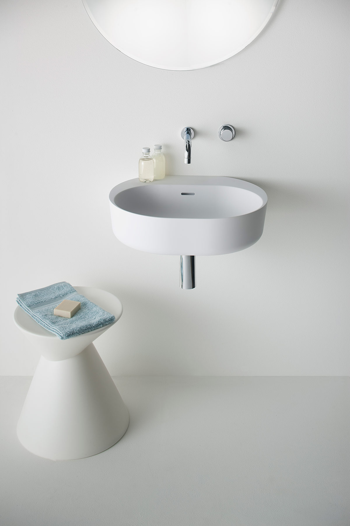 Modern Lilli Wall Mount Washbasin