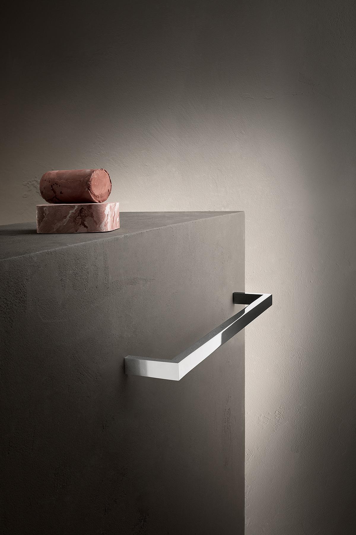 Modern Linea Wall Mount Towel Bar