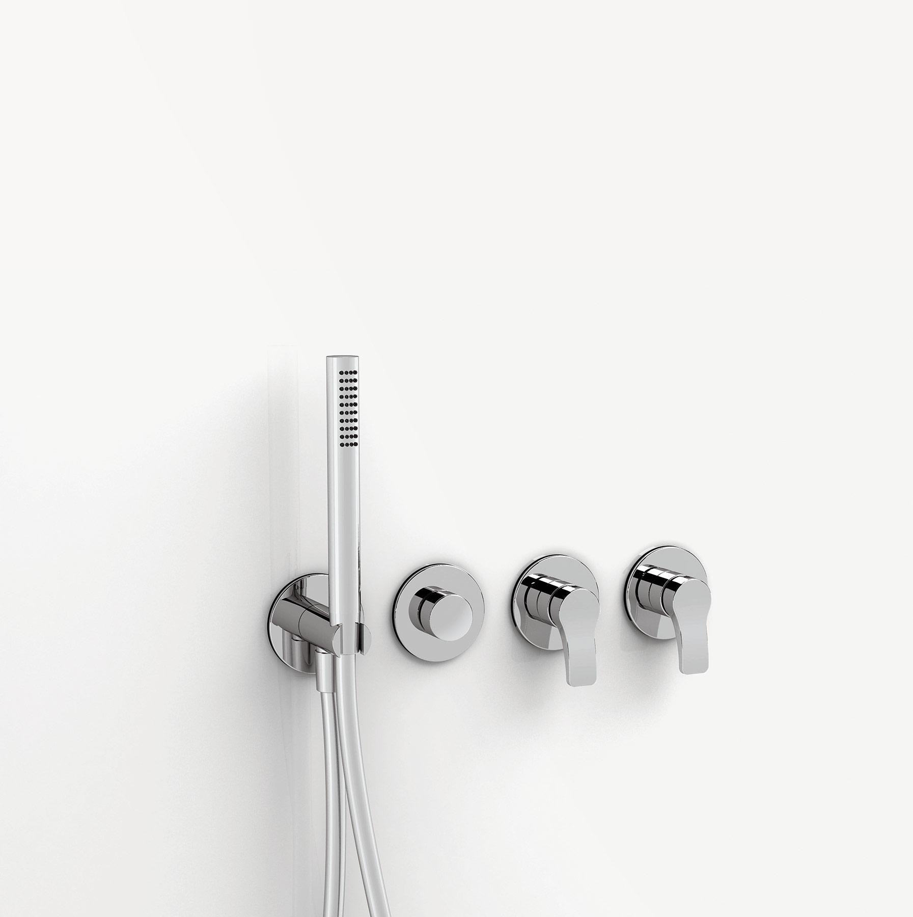 Modern Lissoni Built-in Bathtub Set