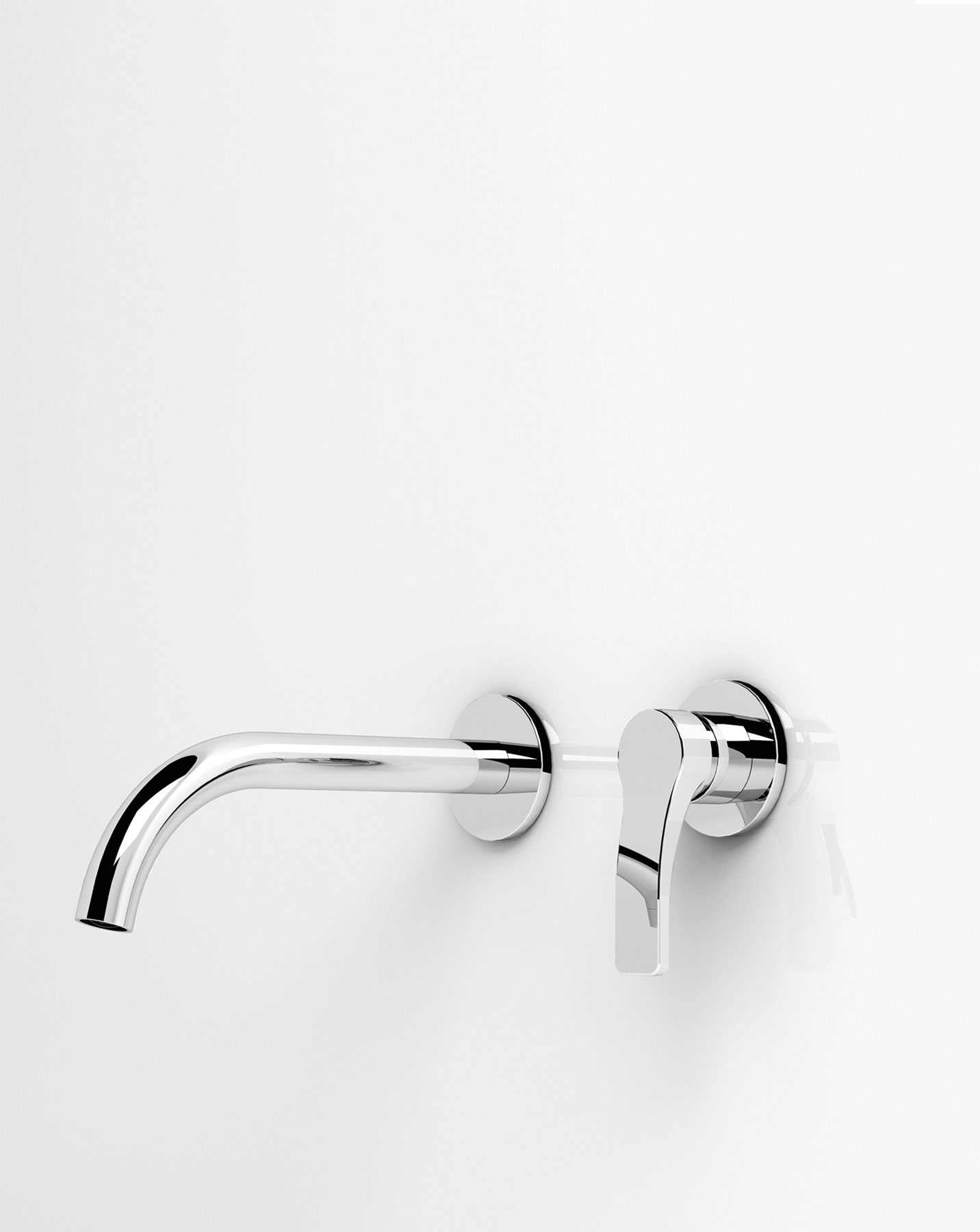 Transitional Lissoni Wall Mount Faucet