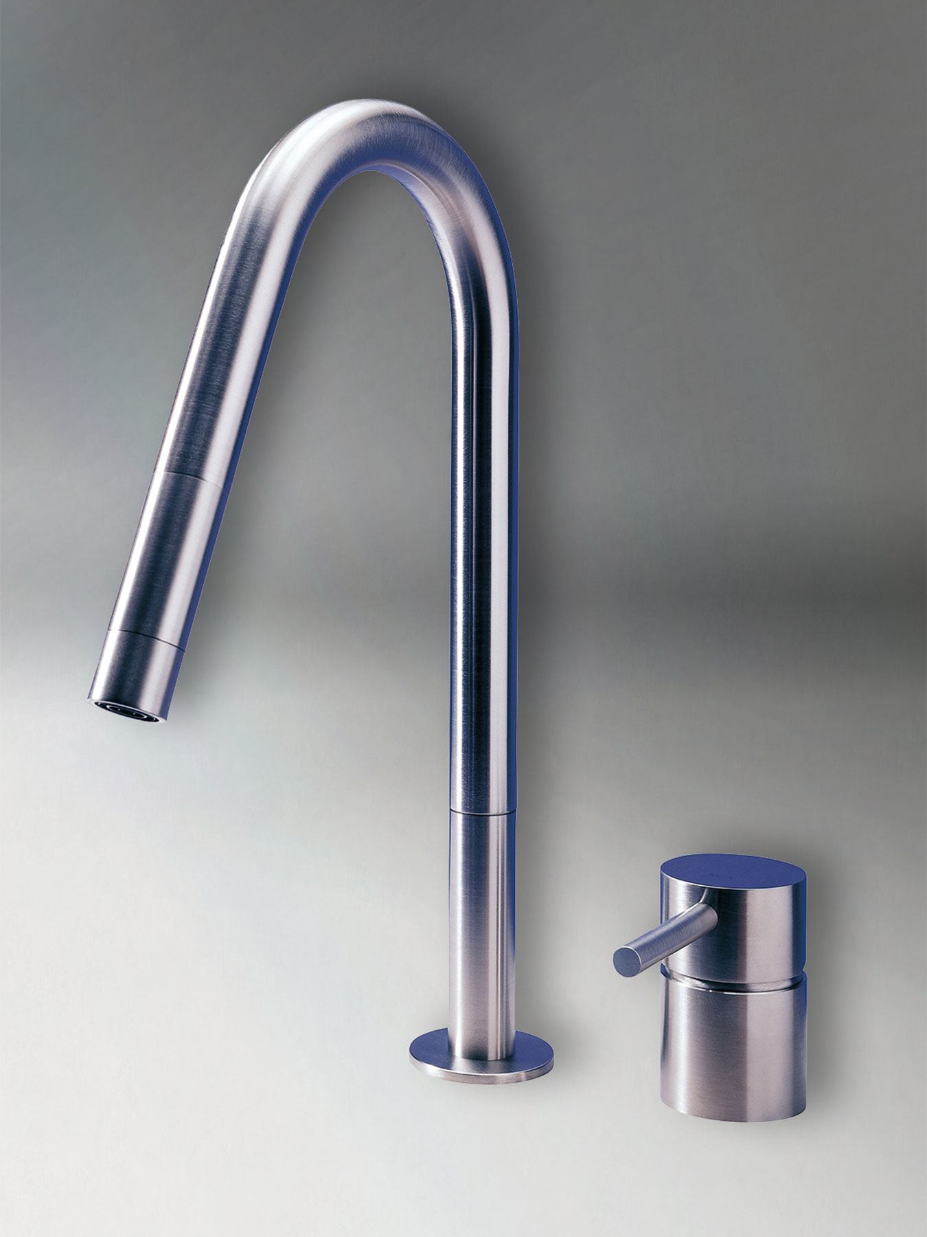 Transitional F2E Deck Mount Kitchen Faucet