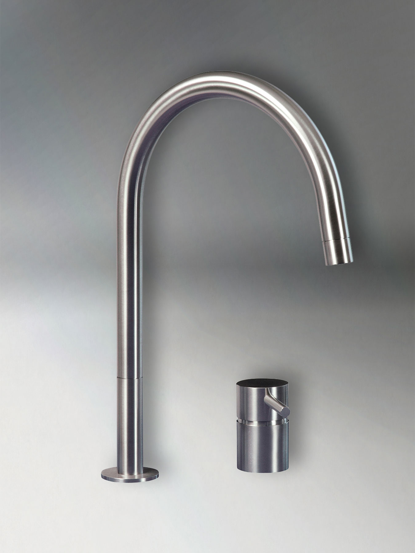 Transitional F2R Deck Mount Kitchen Faucet