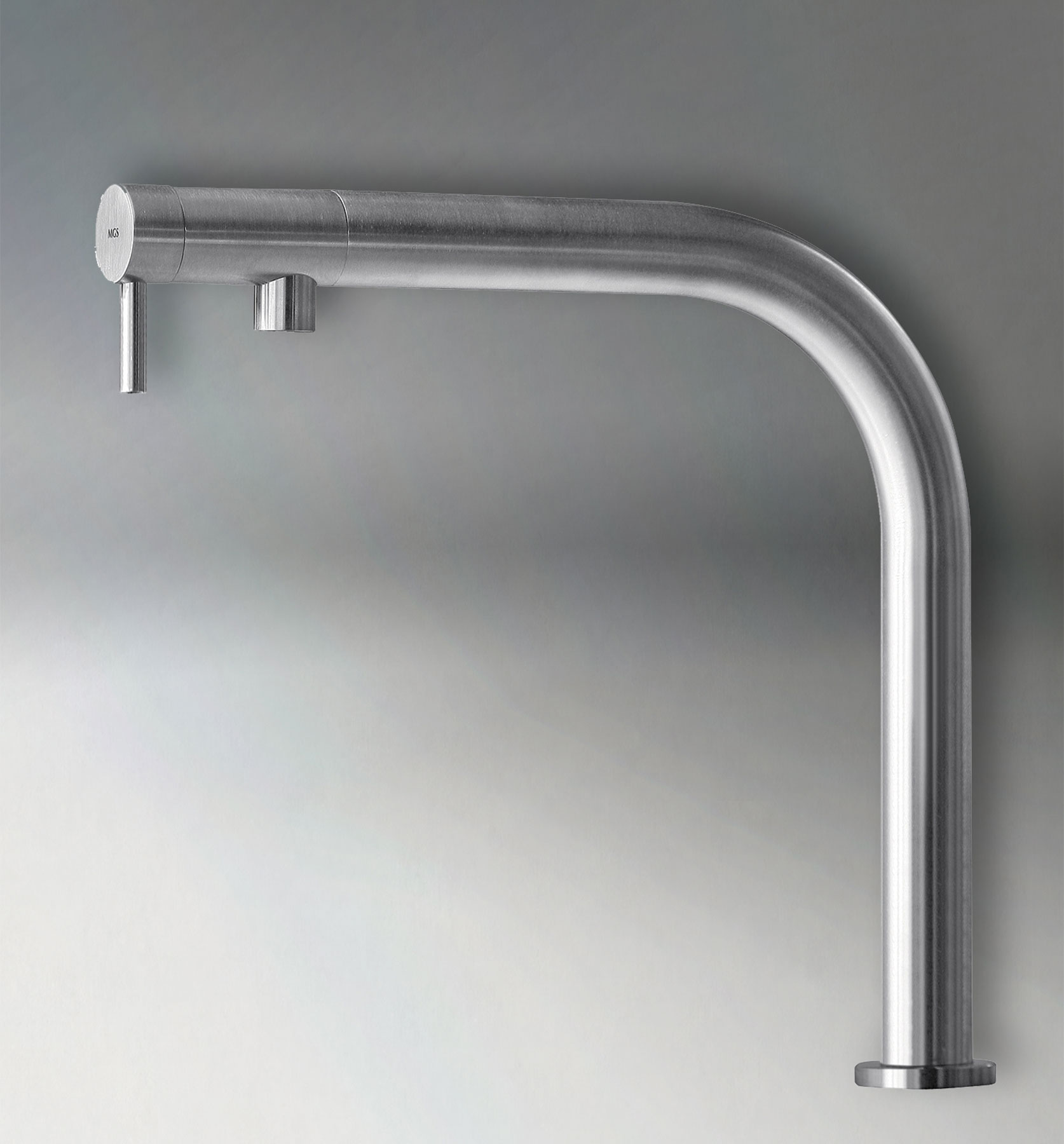 Contemporary Nemo_RH Deck Mount Kitchen Faucet