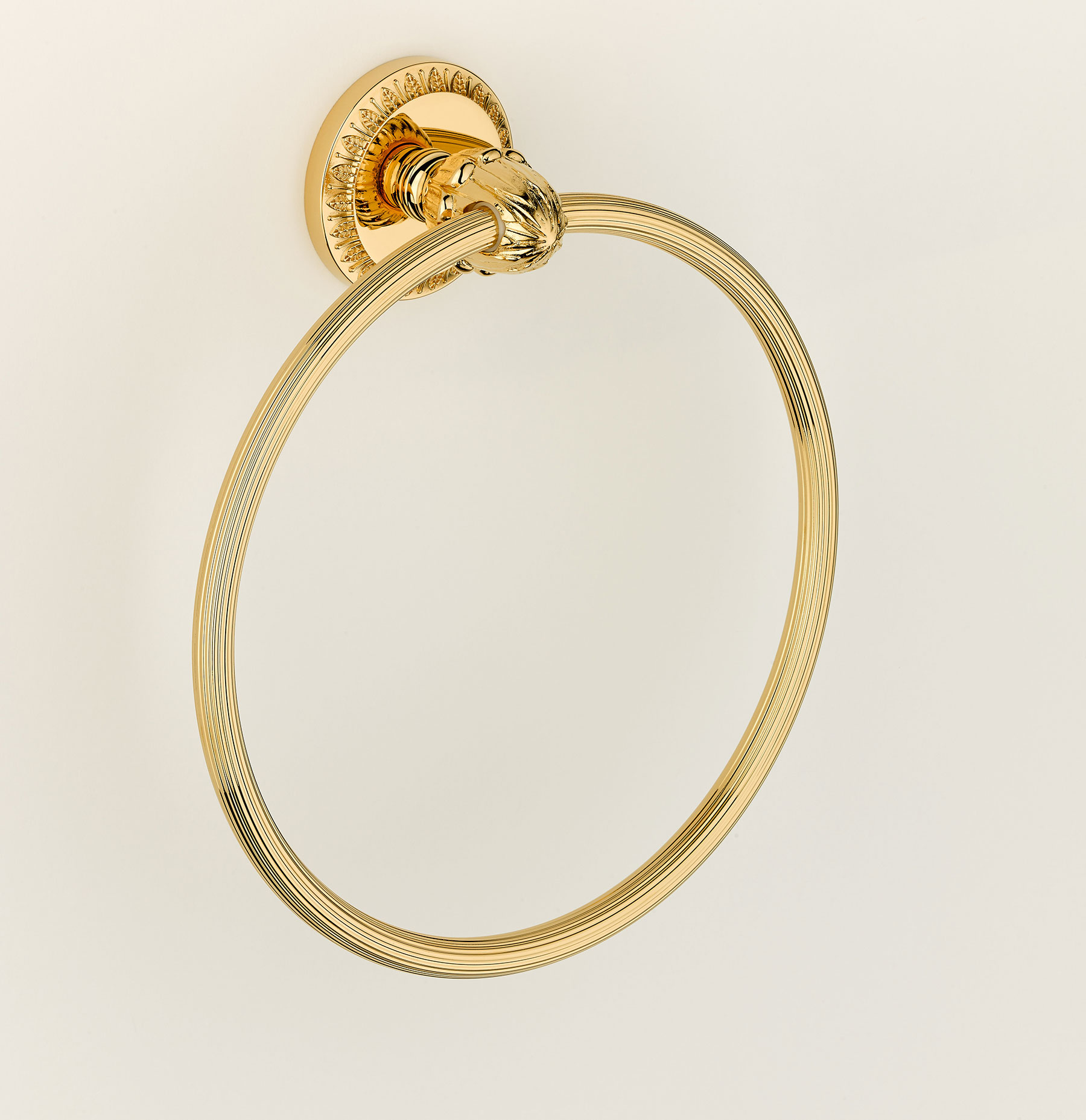 Traditional Malmaison Wall Mount Towel Ring