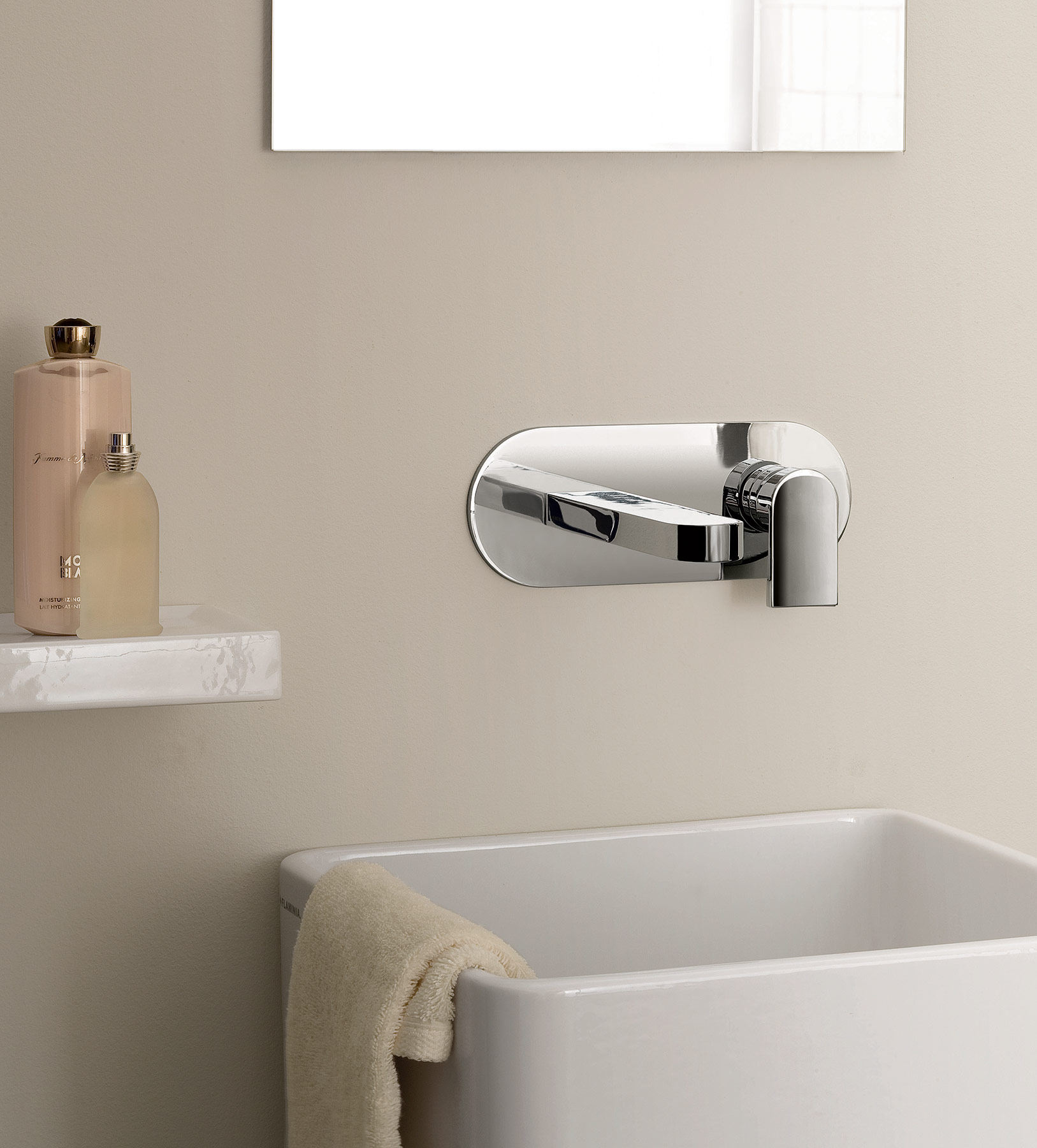 Transitional Mare Wall Mount Faucet