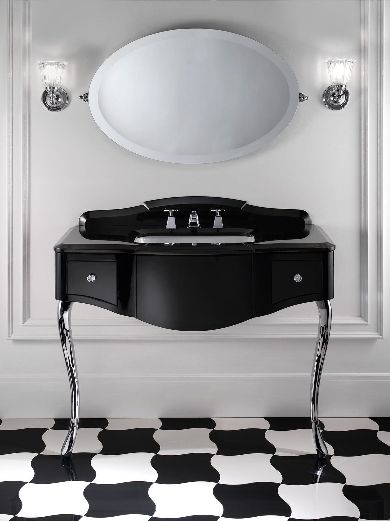 Traditional Miami Wall Mount Vanity Unit