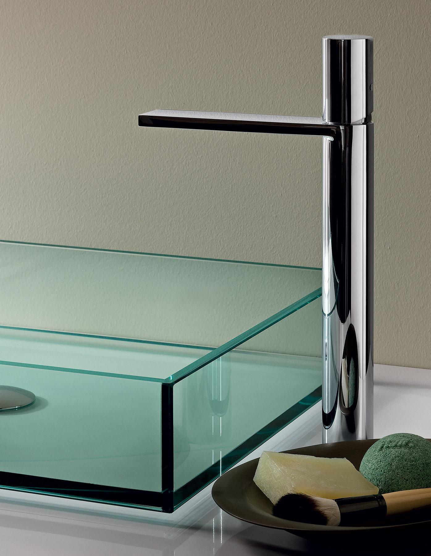 Modern Milano Deck Mount Vessel Faucet