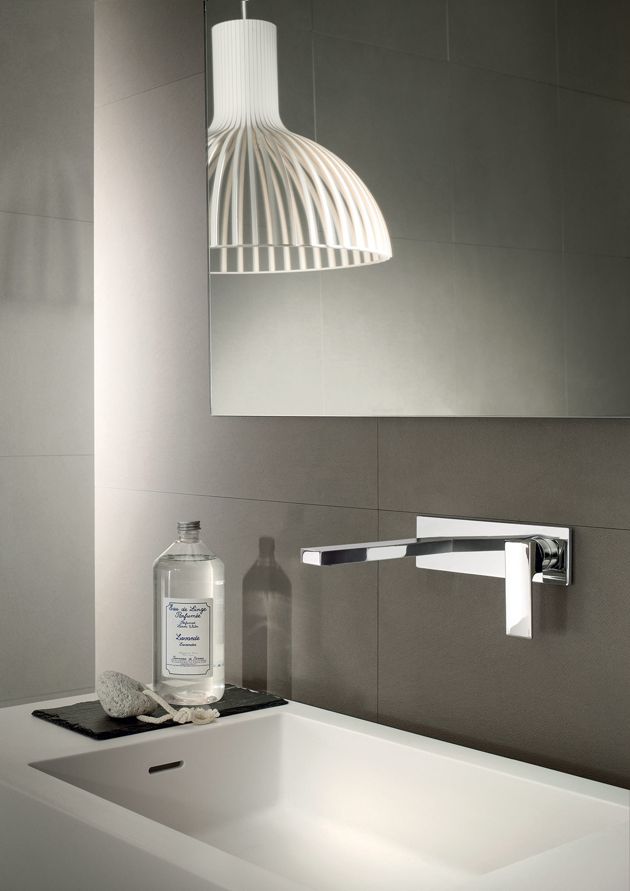 Contemporary Mint Wall Mount Faucet
