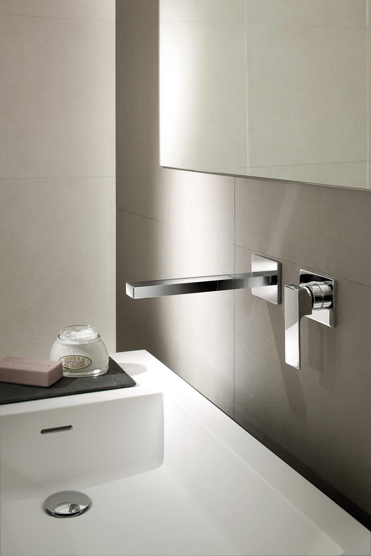 Modern Mint Wall Mount Faucet