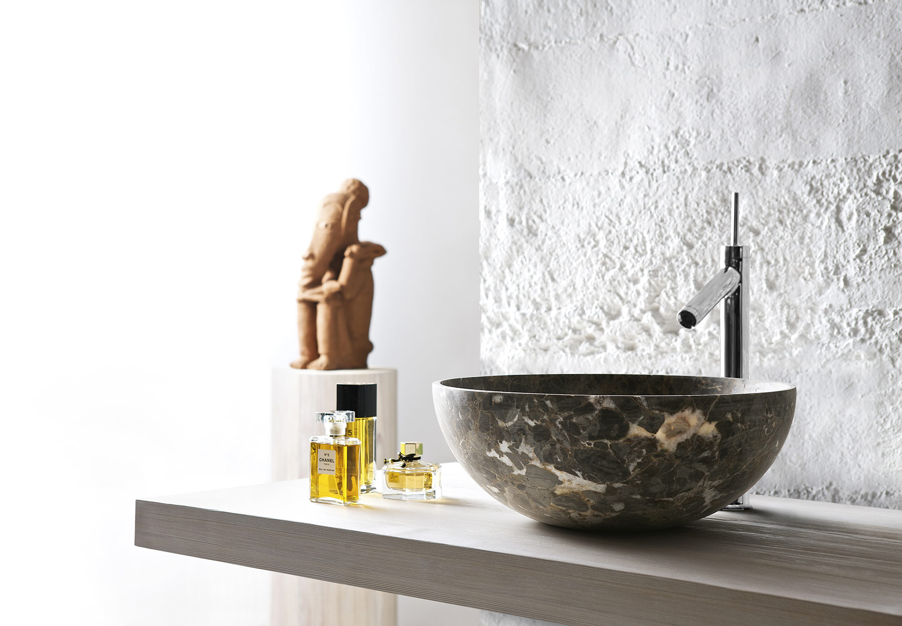Transitional Nabhi Countertop Mount Washbasin