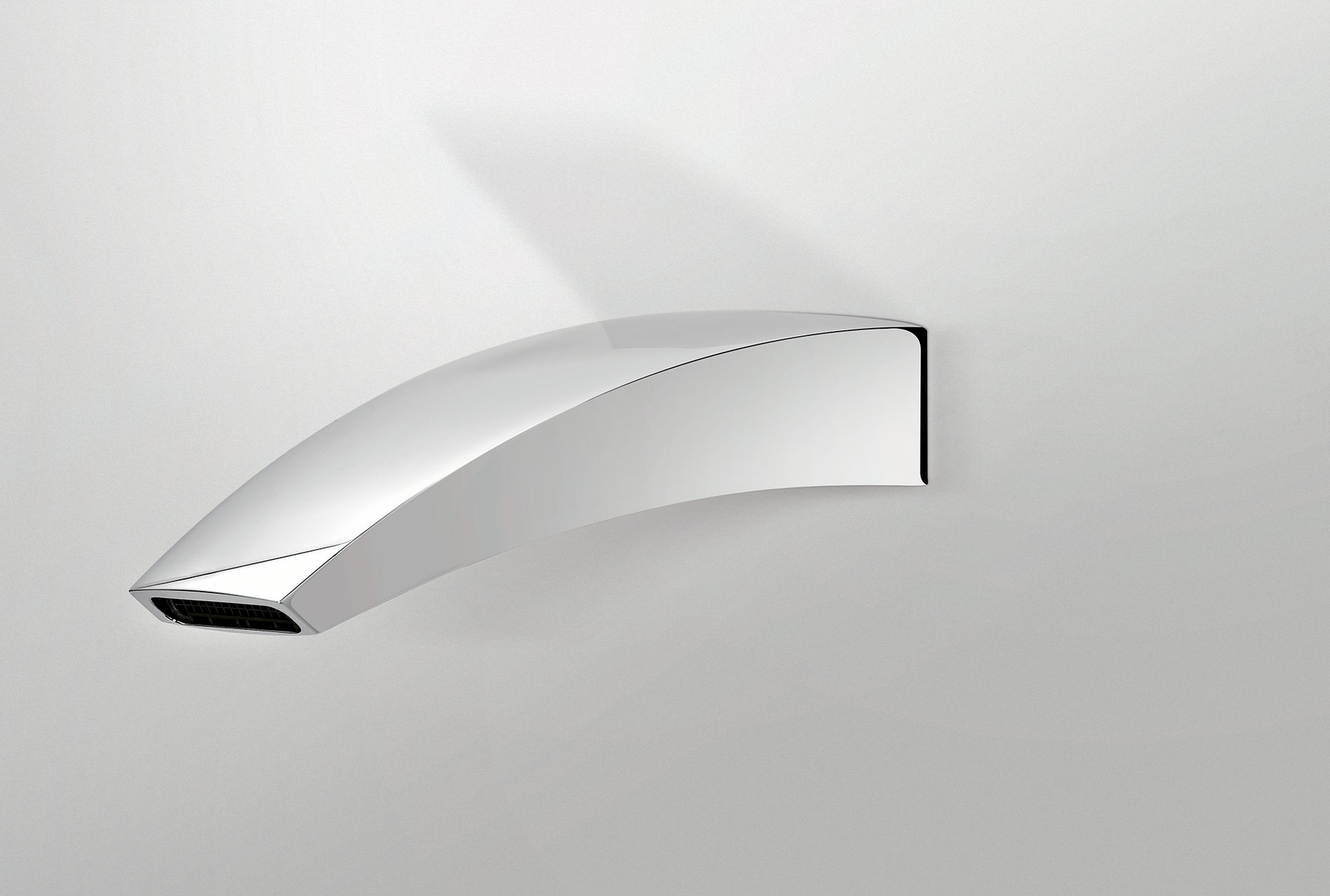 Contemporary New Wave Wall Mout Tub Spout